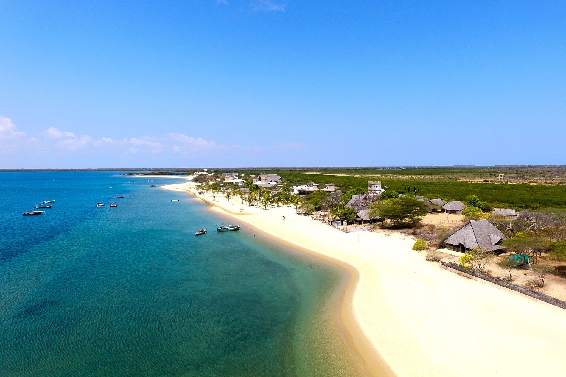 Playa Manda Beach, Kenia, Kenia