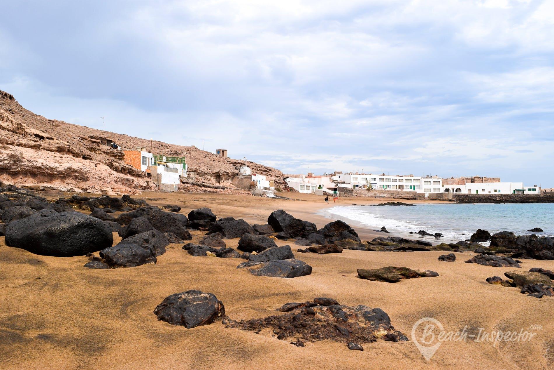 Beach Playa del Cabrón, Gran Canaria, Spain
