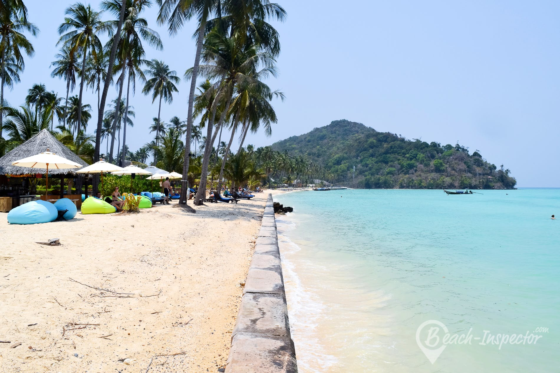 Strand Loh Bagao Bay, Koh Phi Phi, Thailand