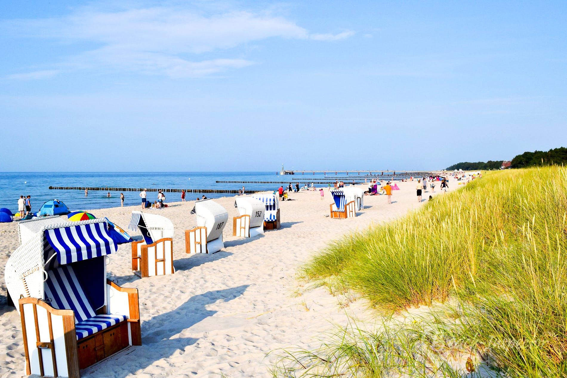 Playa Ostseebad Zingst, Fischland Darß Zingst, Alemania