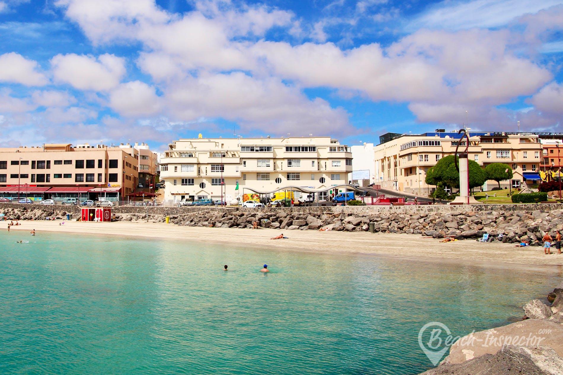 Beach Playa Chica, Fuerteventura, Spain