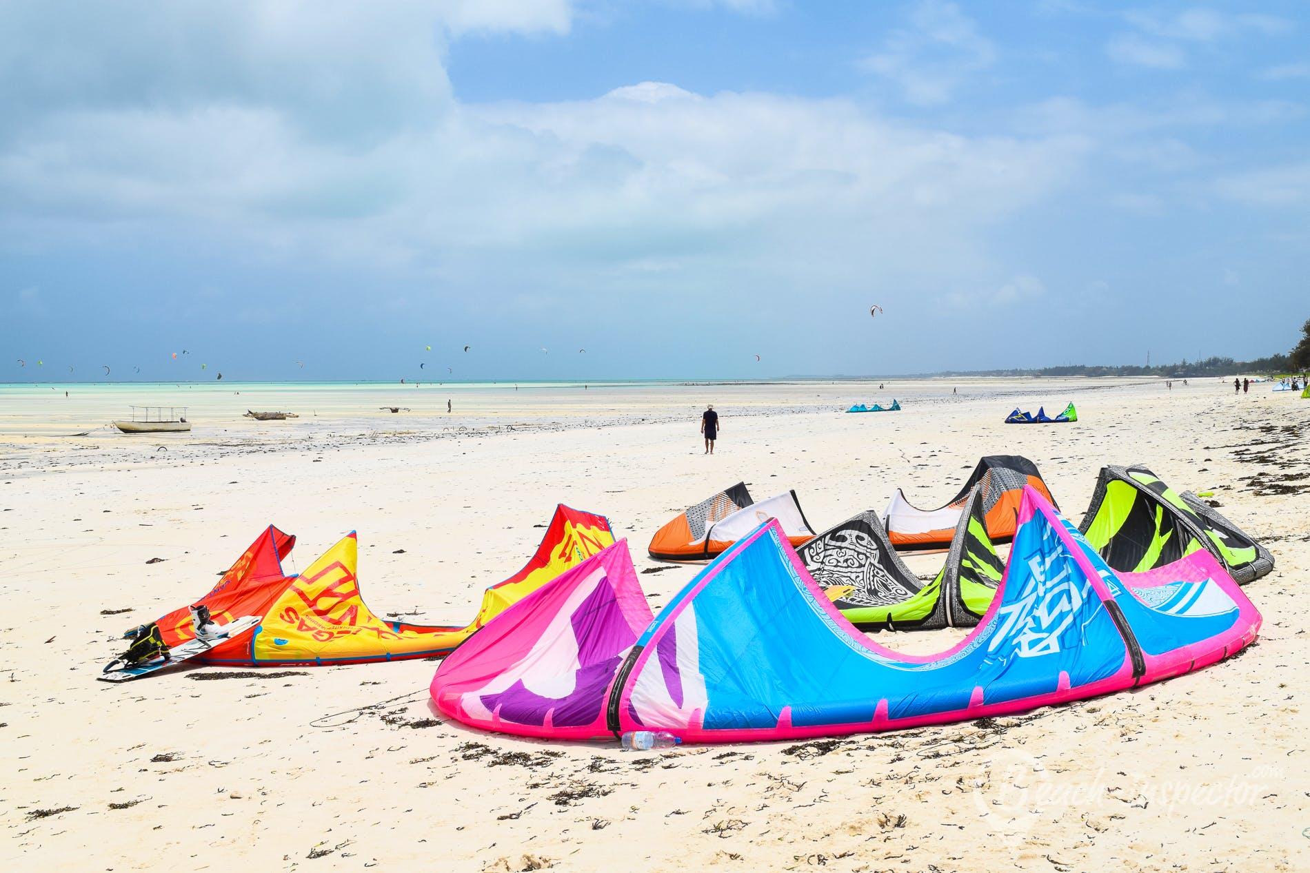 Beach Paje Beach, Zanzibar,