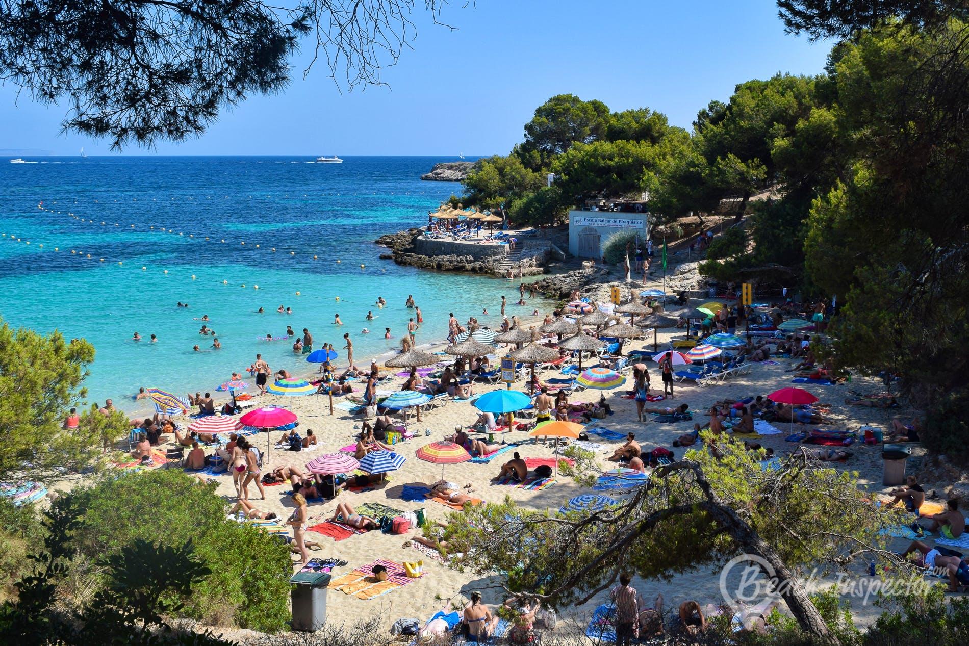 Playa Cala Comptesa, Mallorca, España