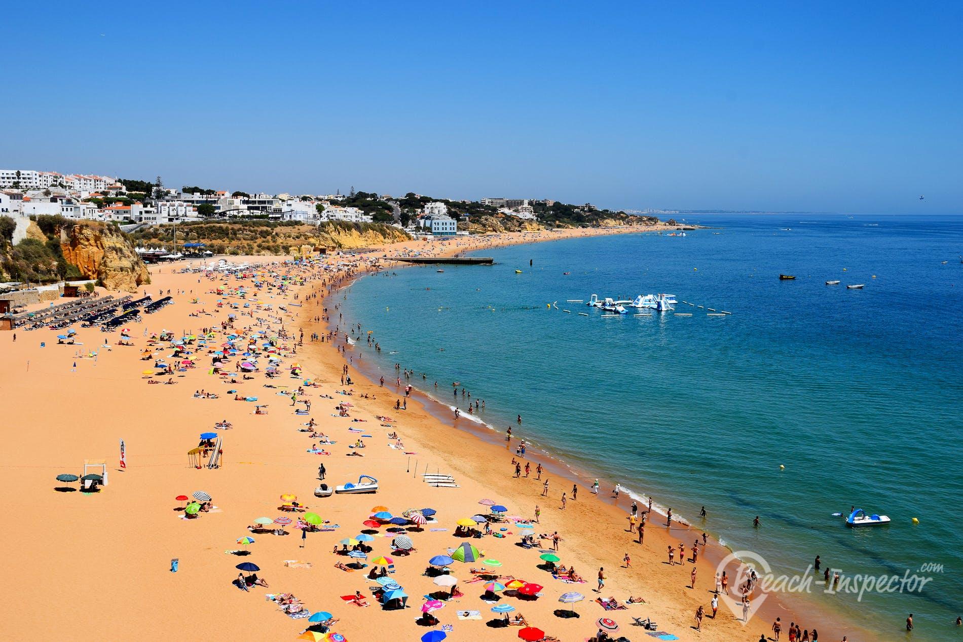 Strand Praia dos Pescadores, Algarve, Portugal