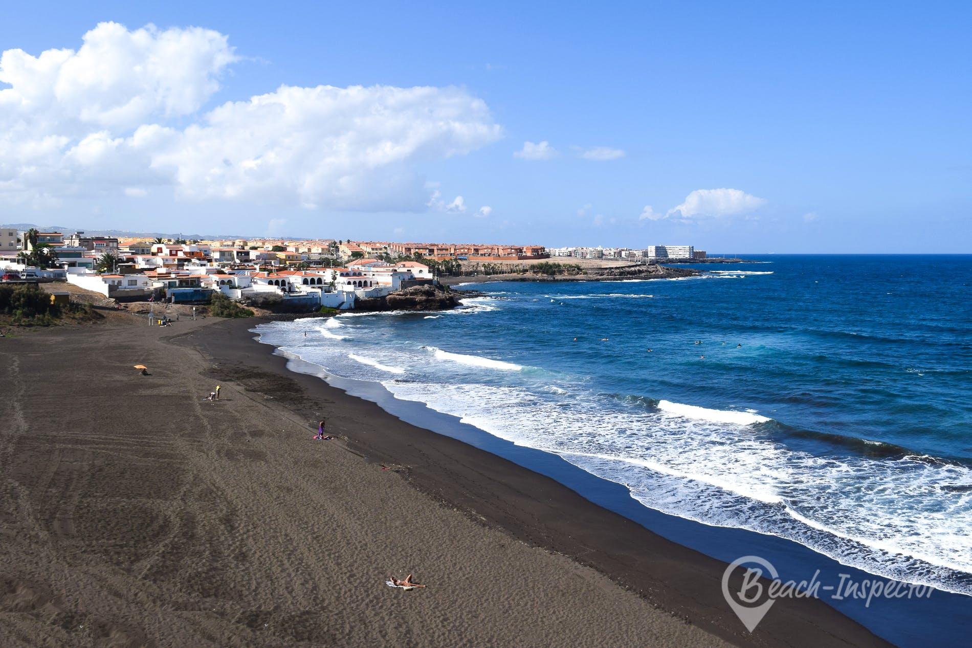 Beach Playa del Hombre, Gran Canaria, Spain