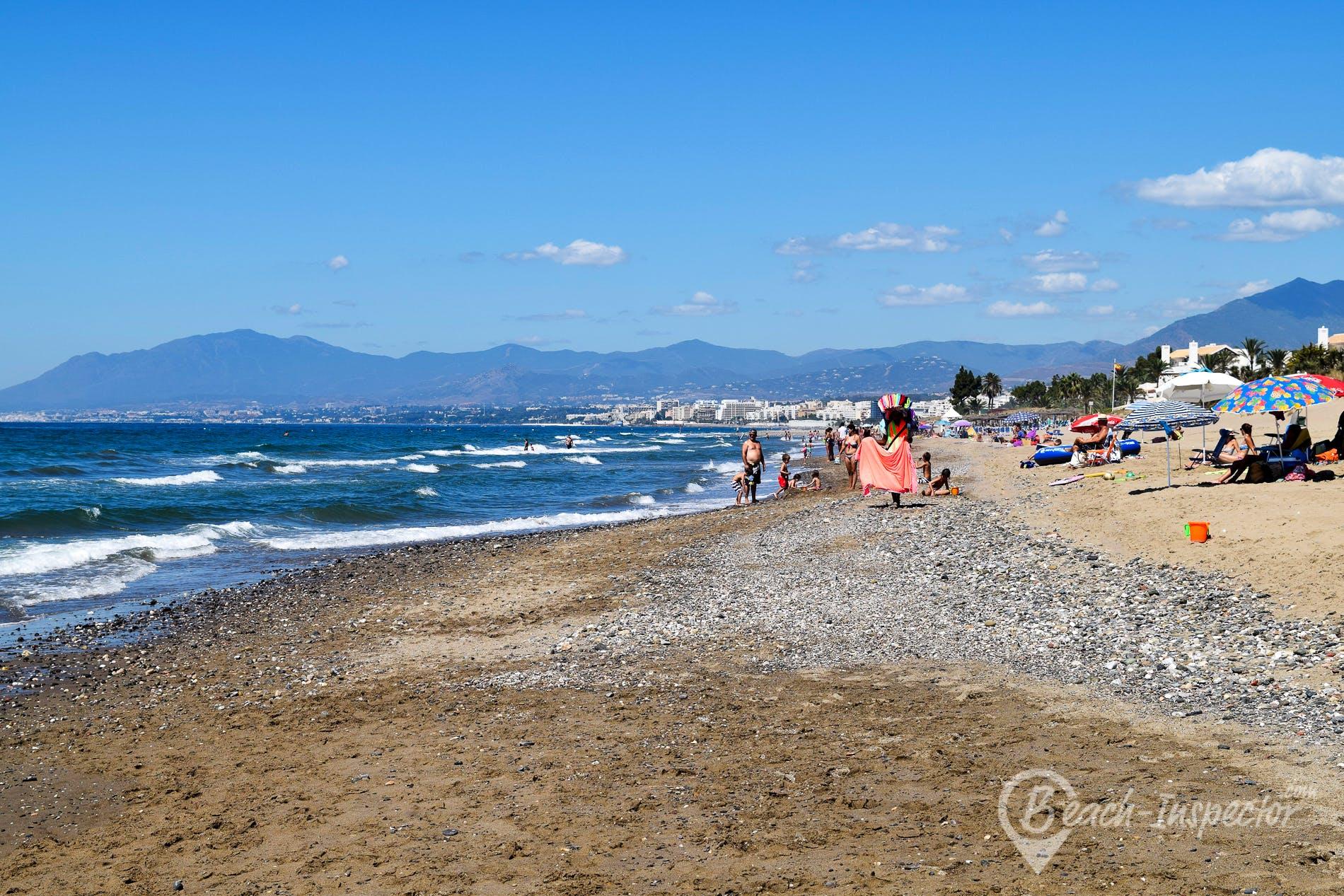 Strand Playa Los Monteros, Costa del Sol, Spanien