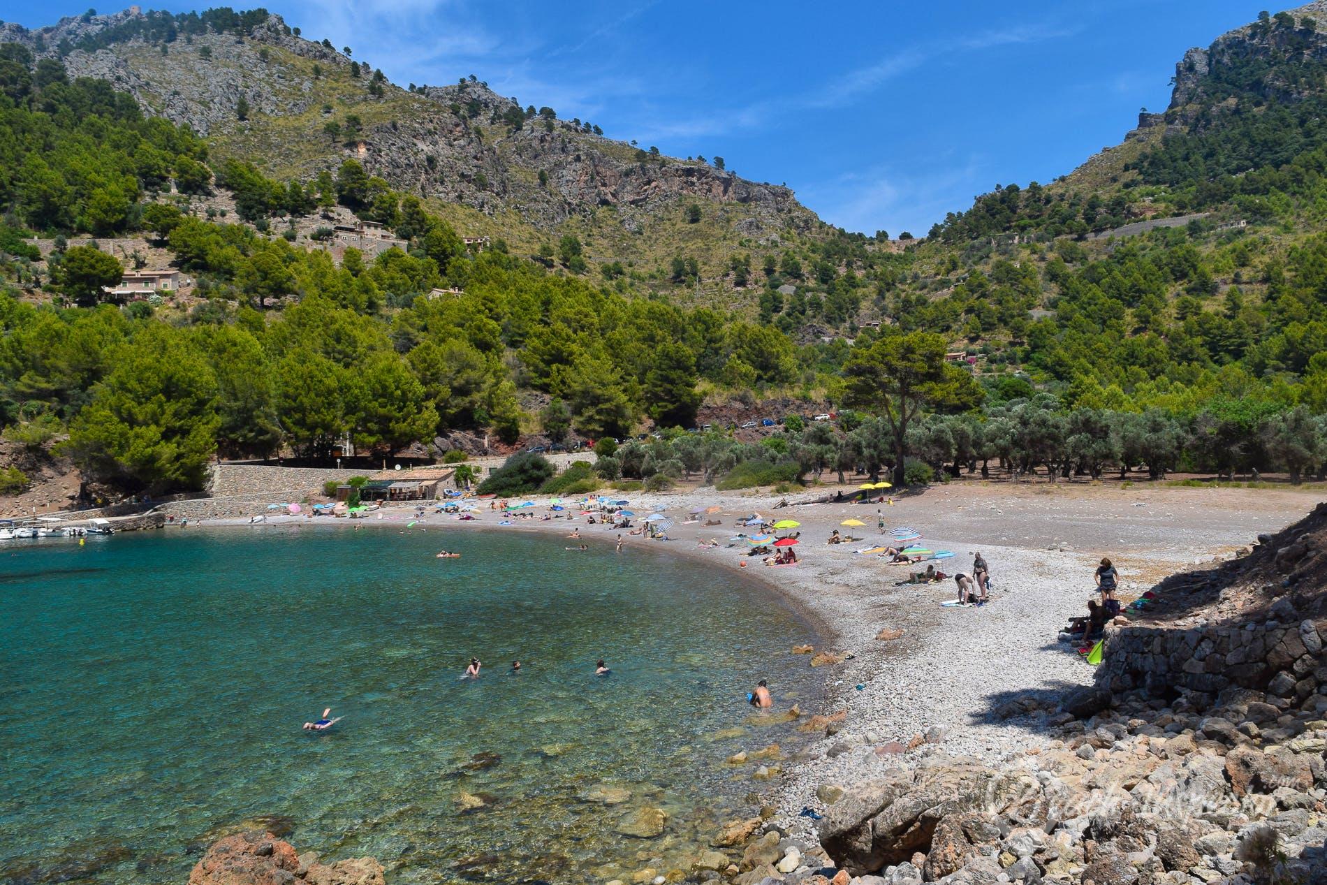 Playa Cala Tuent, Mallorca, España