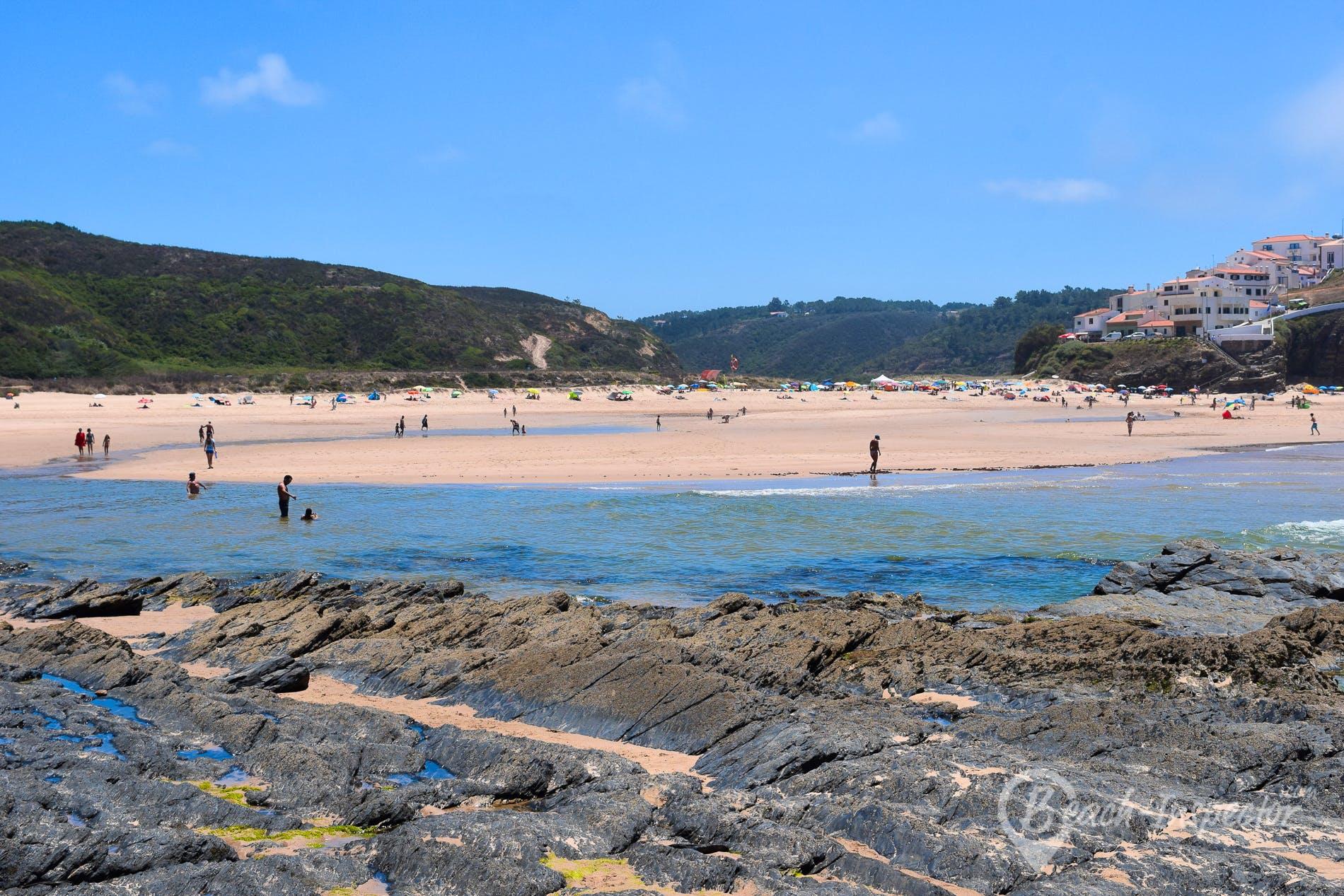 Strand Praia de Odeceixe, Algarve, Portugal