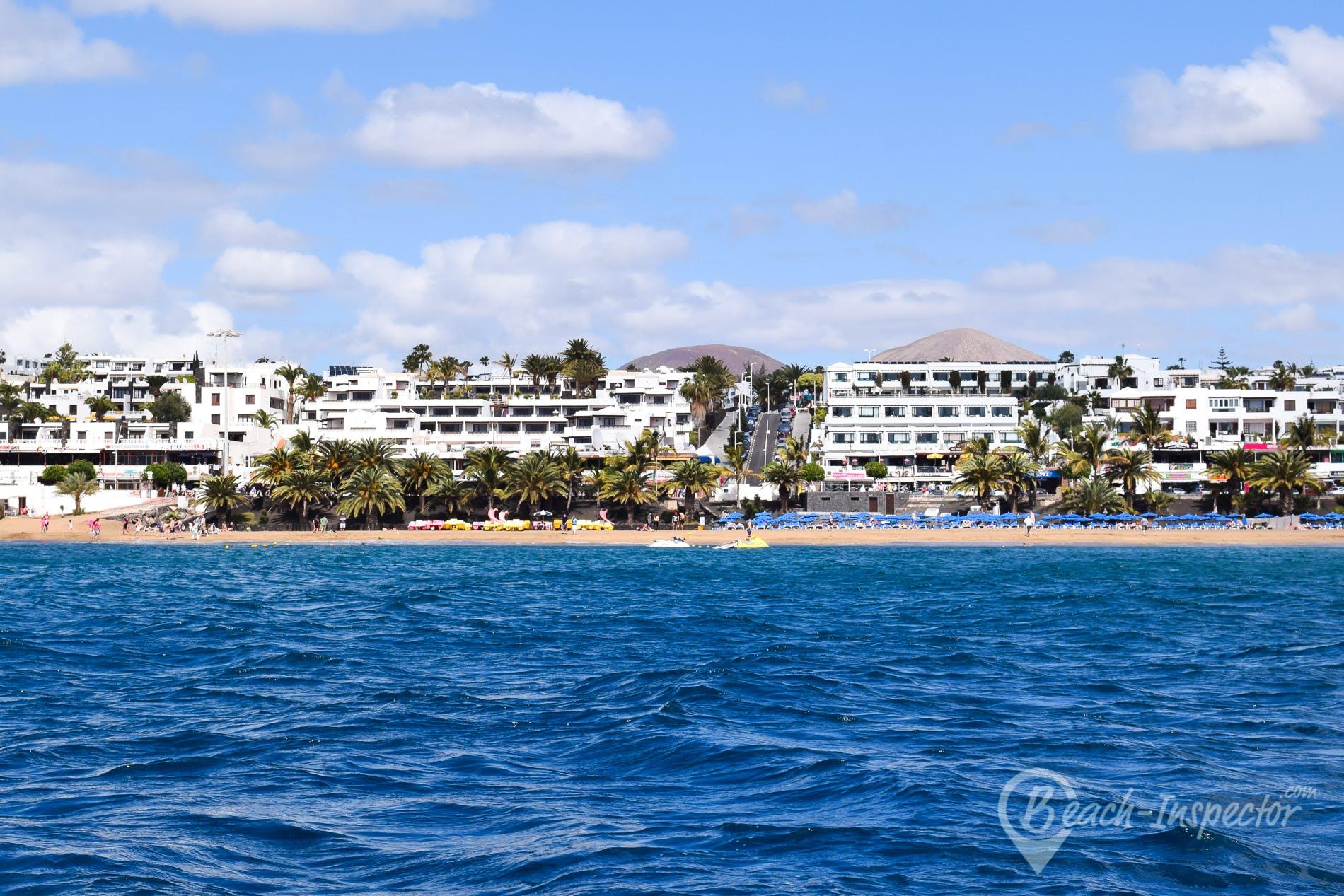 Playa Playa Grande, Lanzarote, España