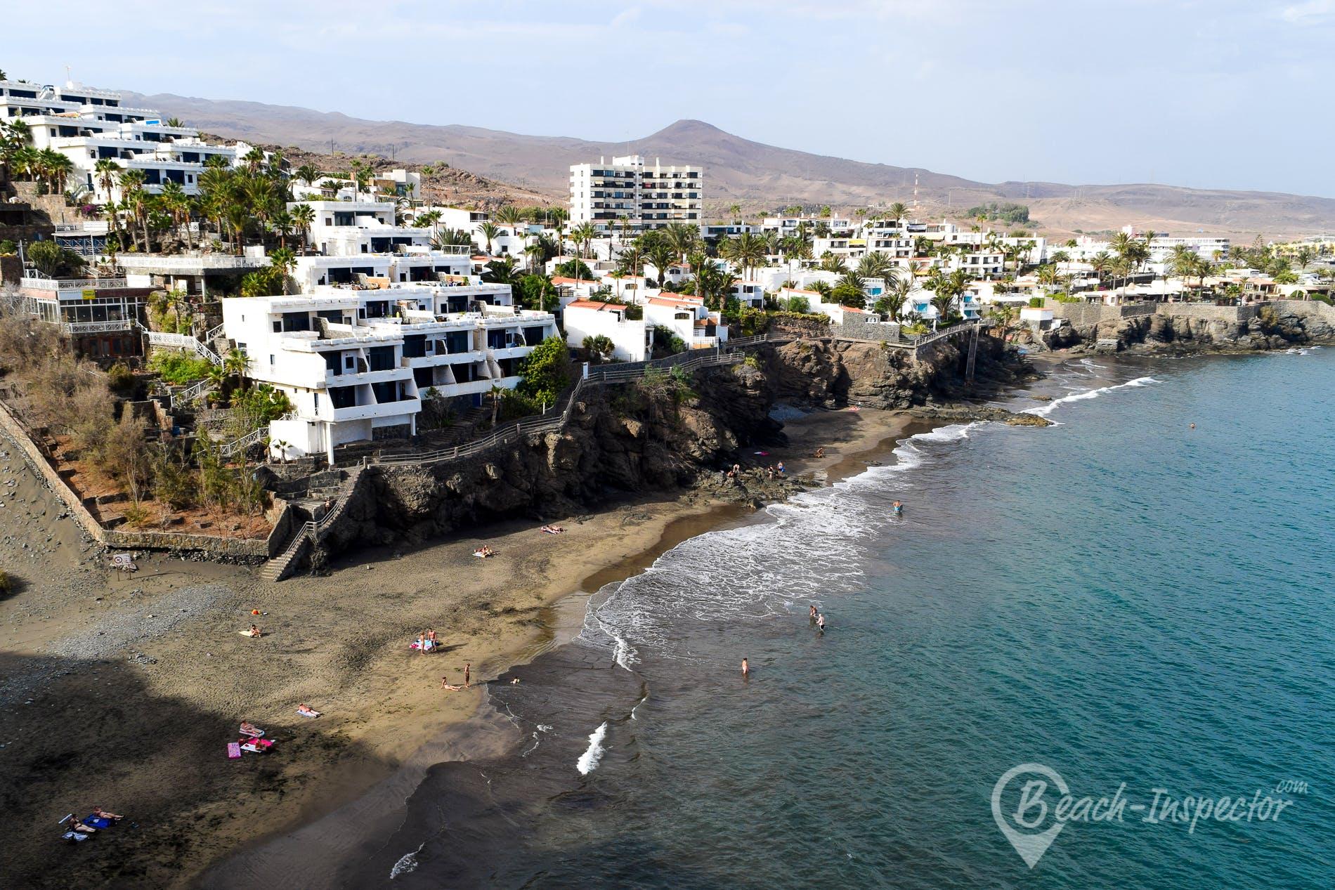 Playa Playa del Besudo, Gran Canaria, España