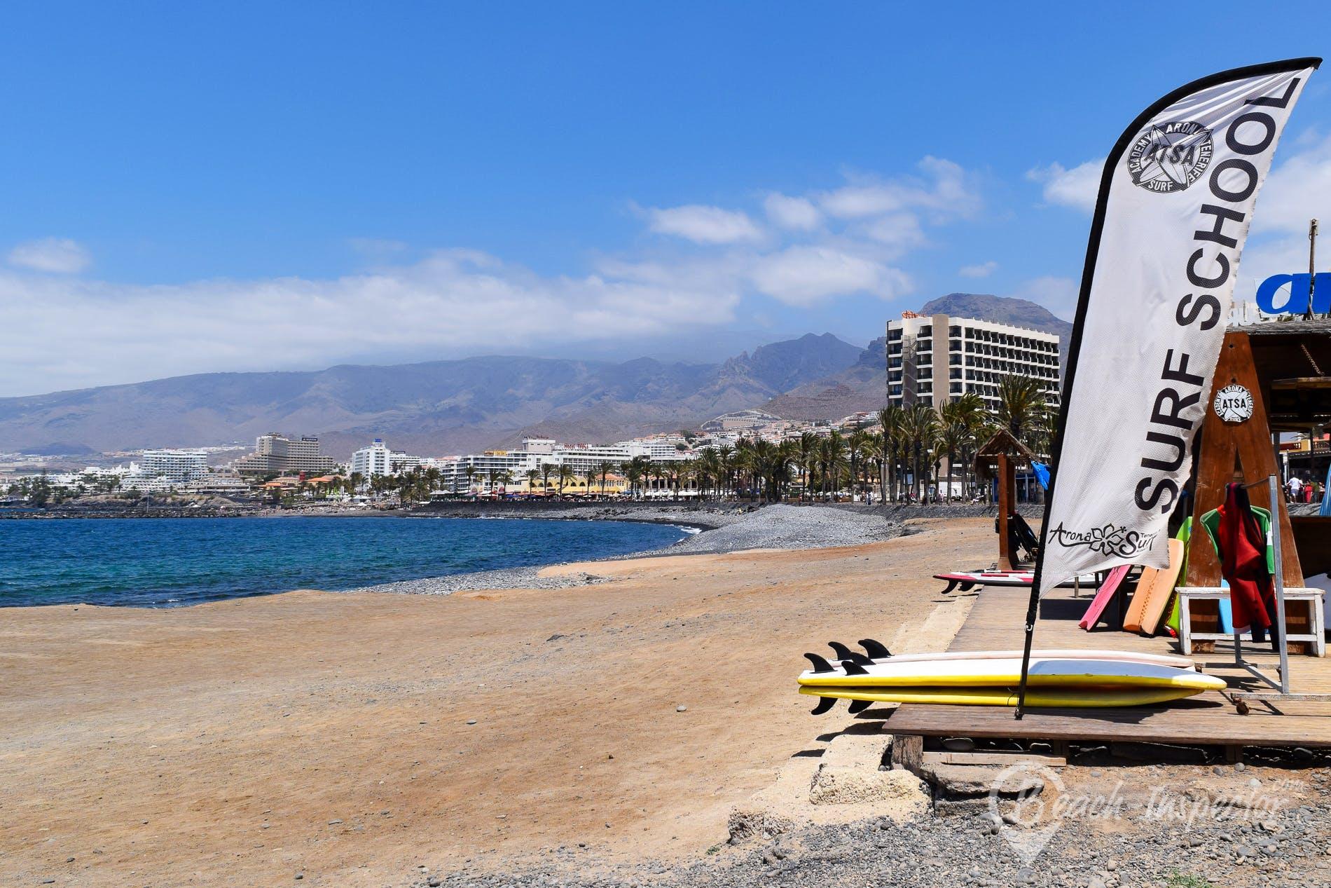 Beach Playa Honda, Tenerife, Spain