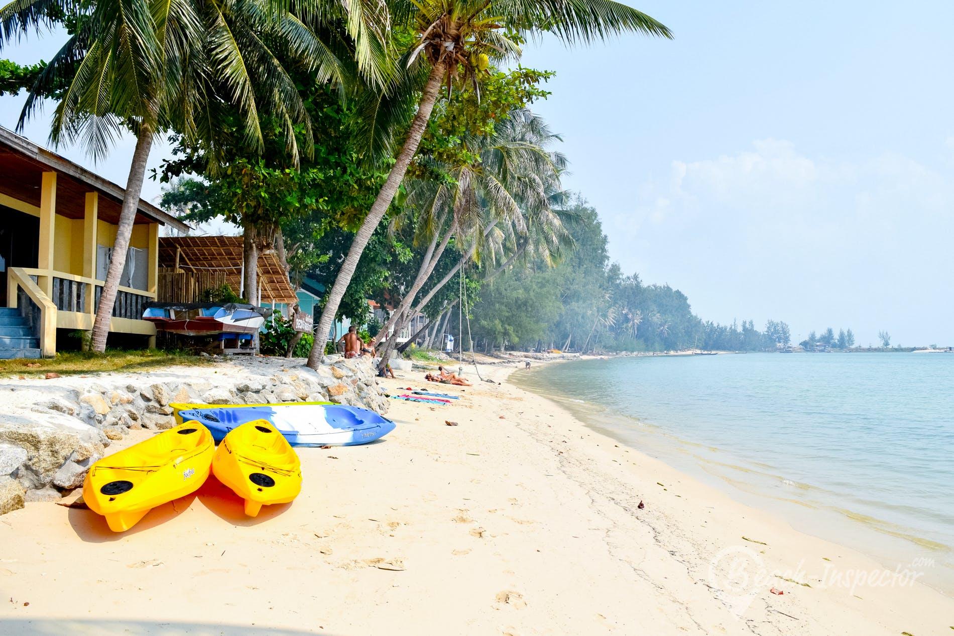 Strand Nai Wok Beach, Koh Phangan, Thailand