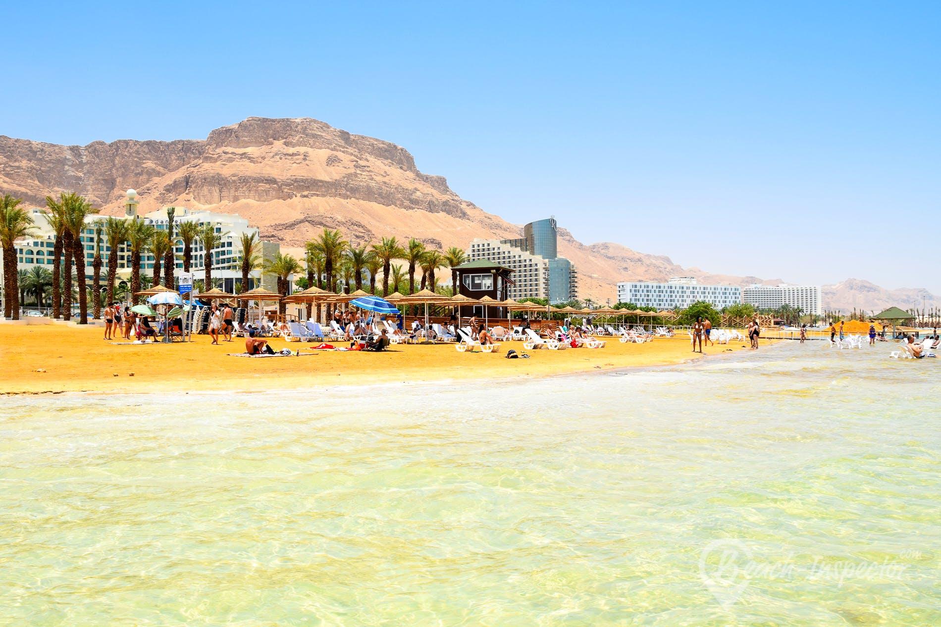 Beach Ein Bokek Beach, Israel, Israel