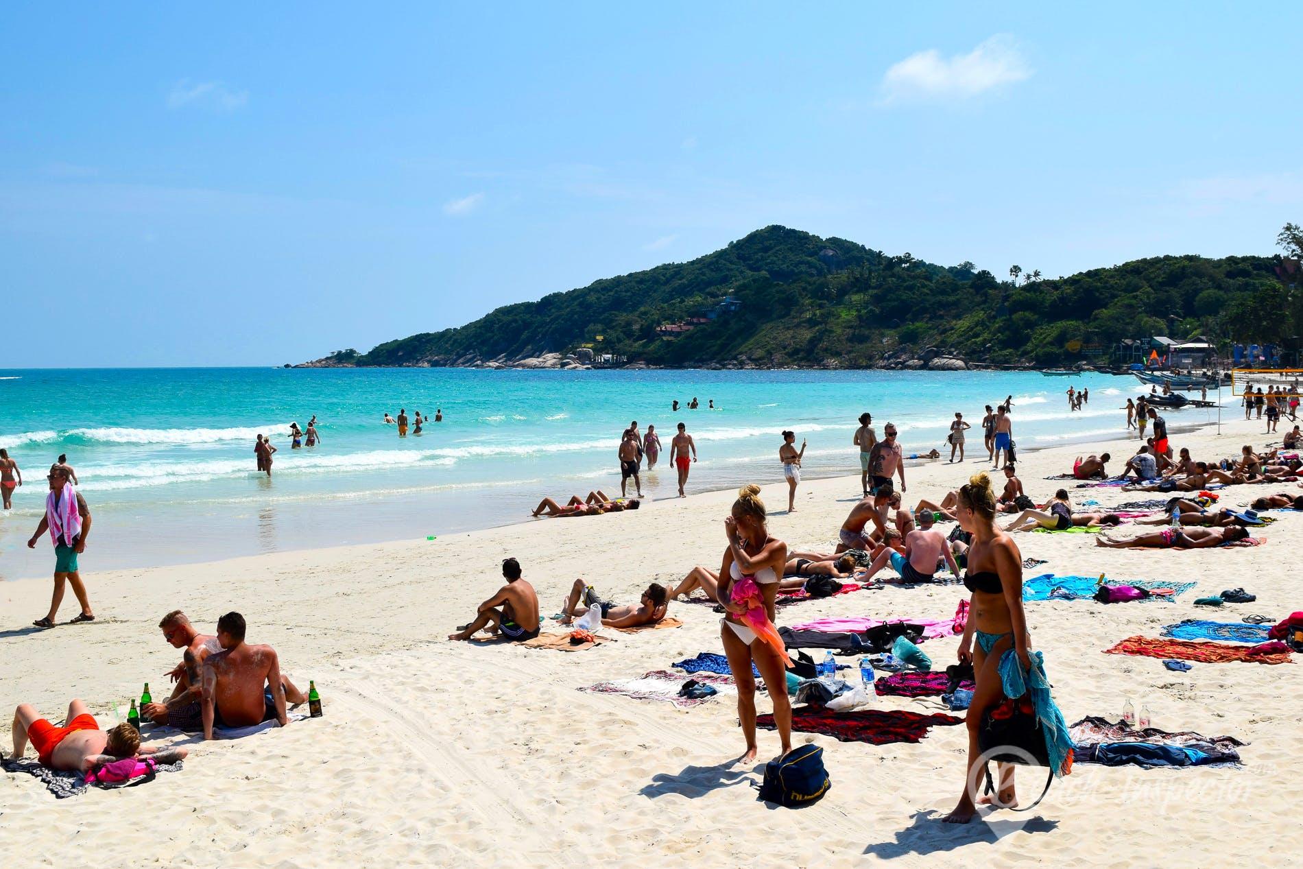 Beach Haad Rin Beach, Koh Phangan, Thailand