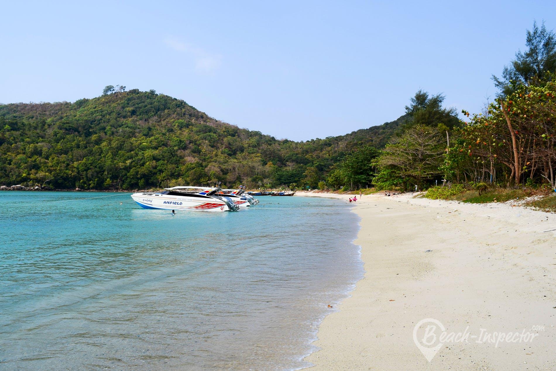 Beach Loh Lana Bay, Koh Phi Phi, Thailand