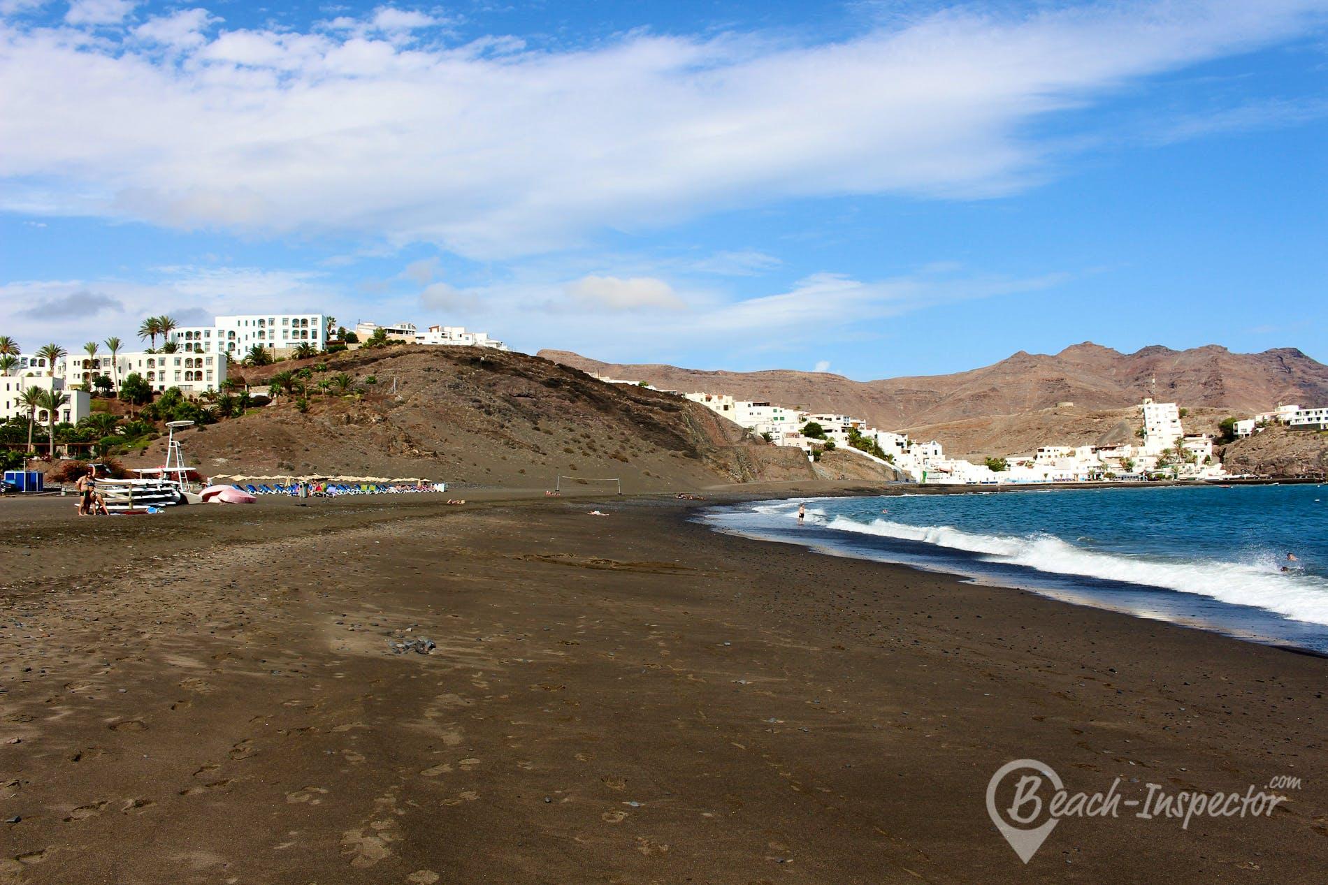 Strand Las Playitas, Fuerteventura, Spanien
