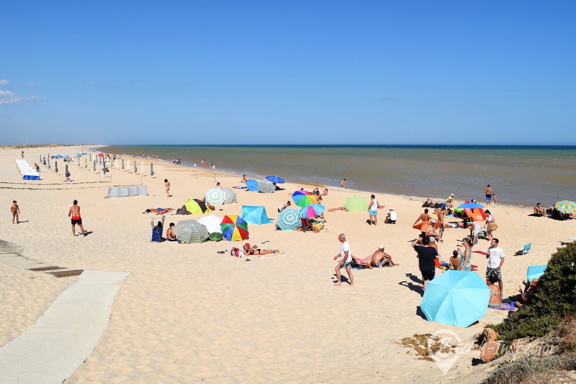 Strand Praia do Farol, Algarve, Portugal