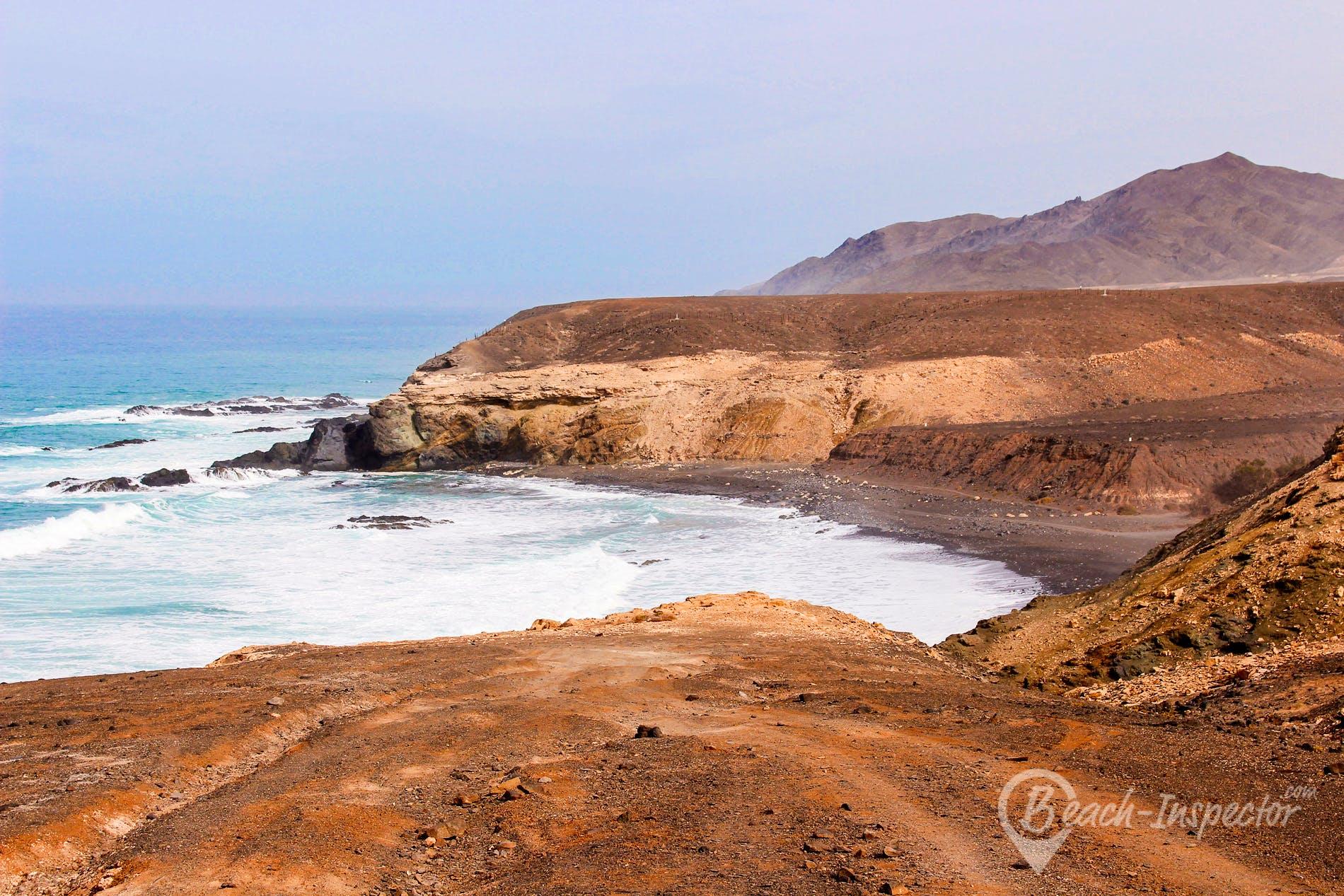 Beach Playa de Ugán, Fuerteventura, Spain