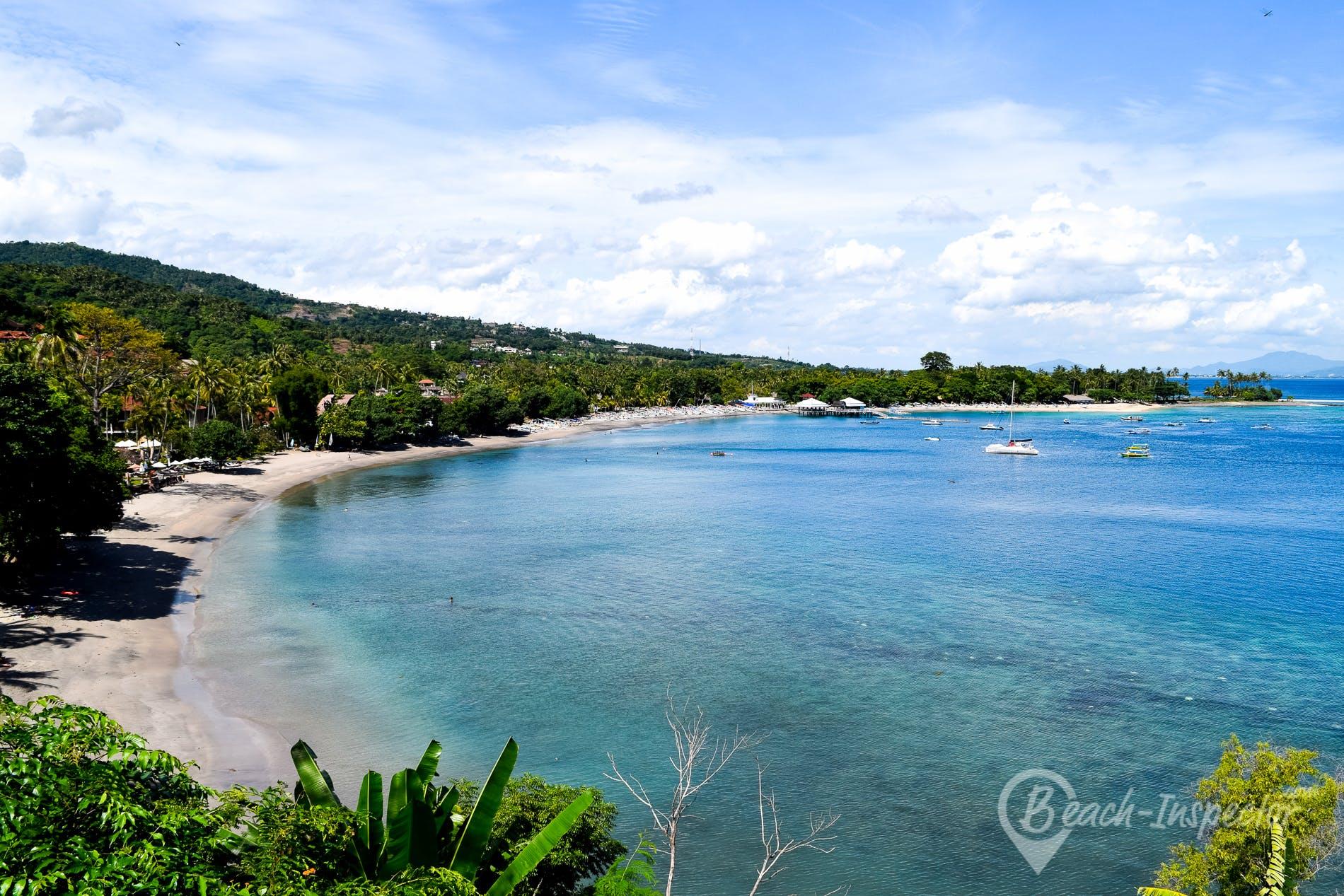 Beach Senggigi Beach, Lombok, Indonesia
