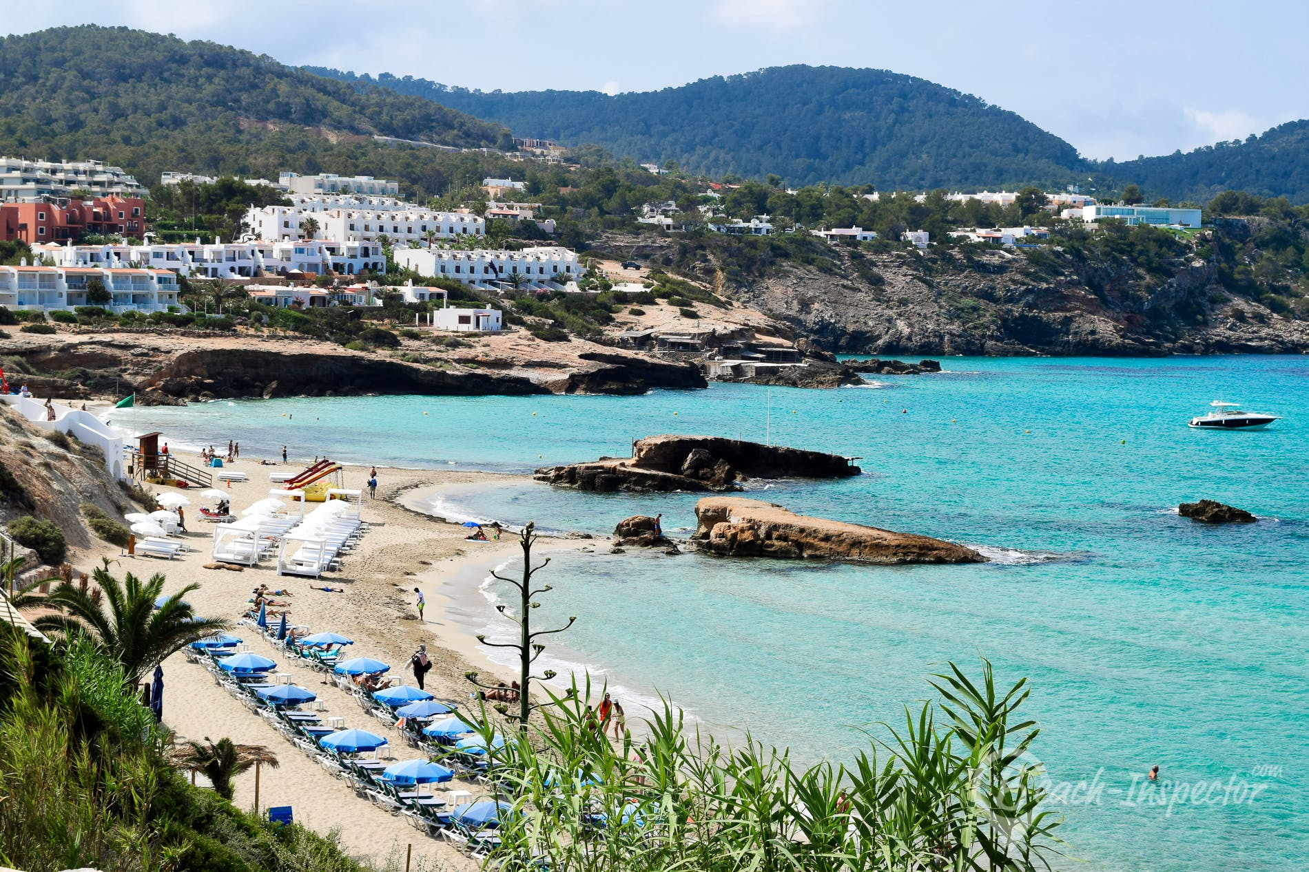 Beach Cala Tarida, Ibiza, Spain