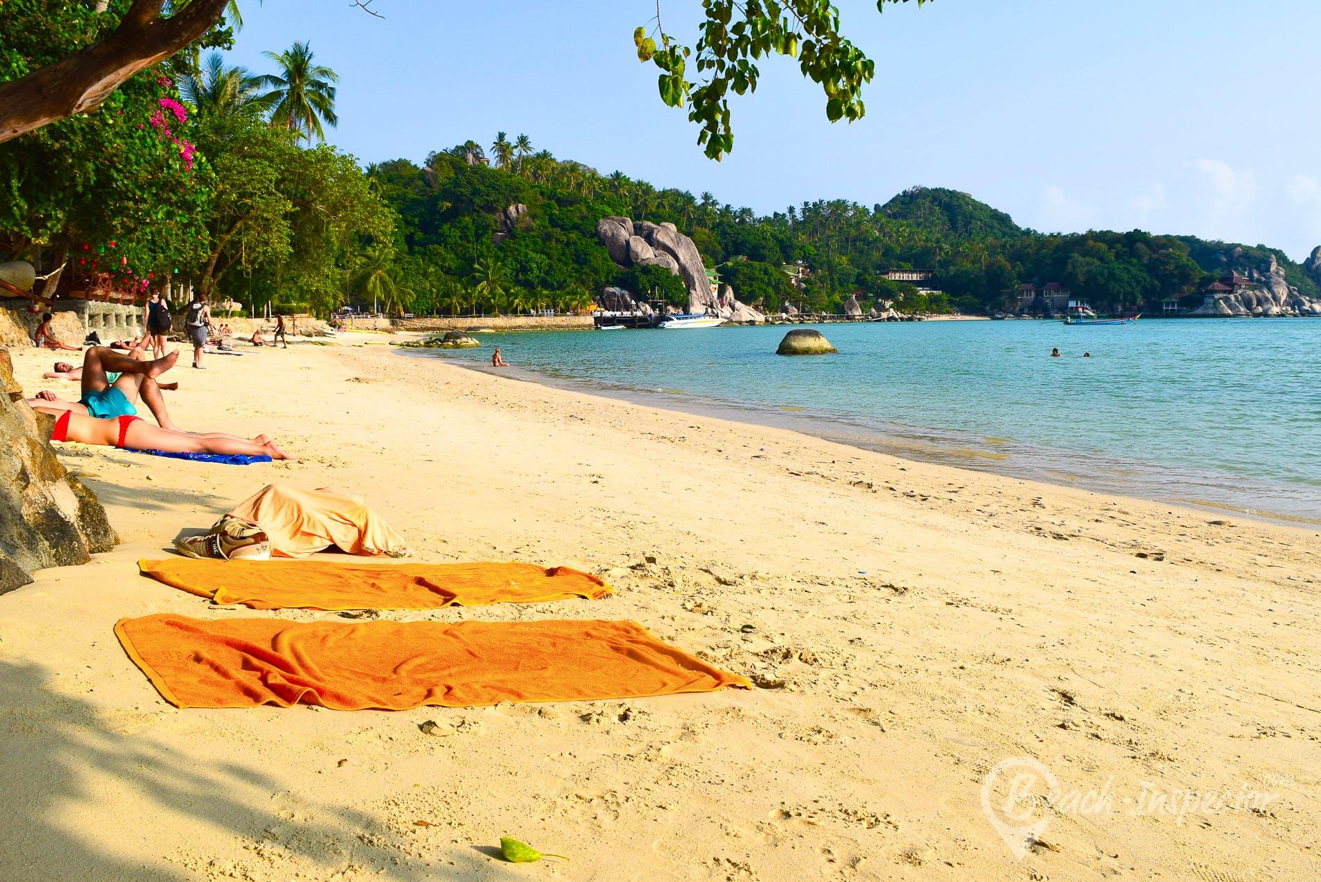 Beach Chalok Baan Kao Beach, Koh Tao, Thailand