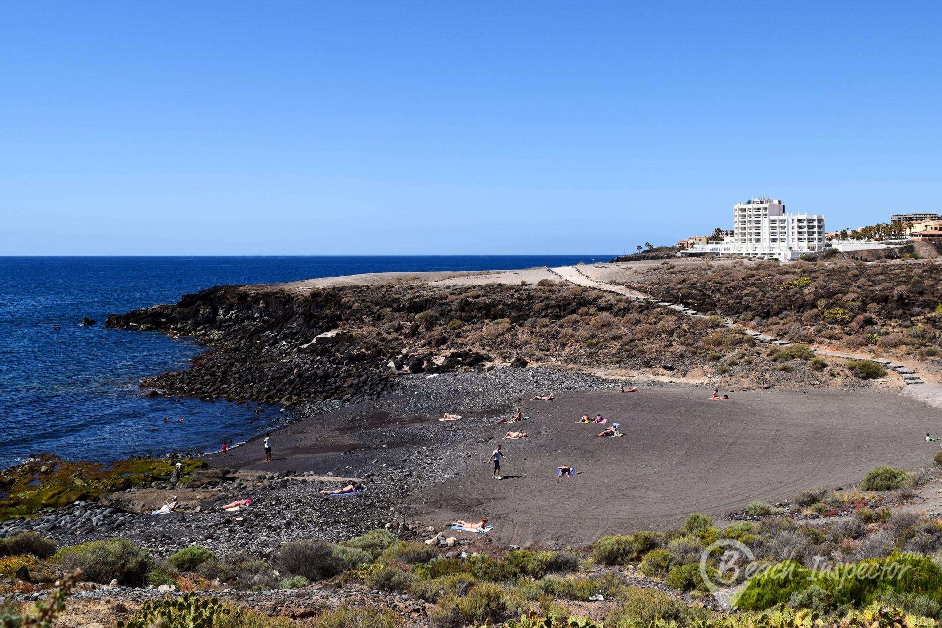 Strand Playa Grande, Teneriffa, Spanien