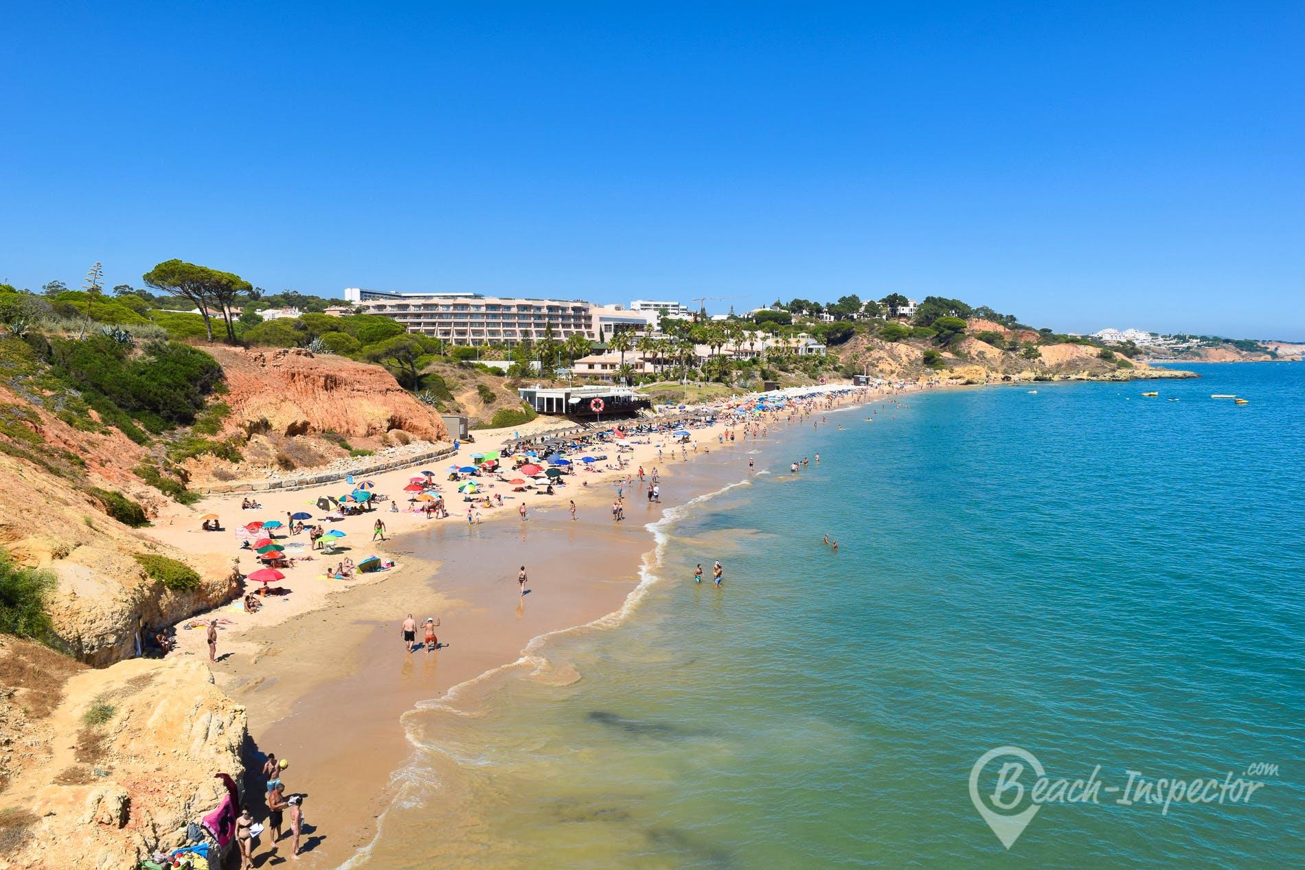 Strand Praia de St. Eulália, Algarve, Portugal