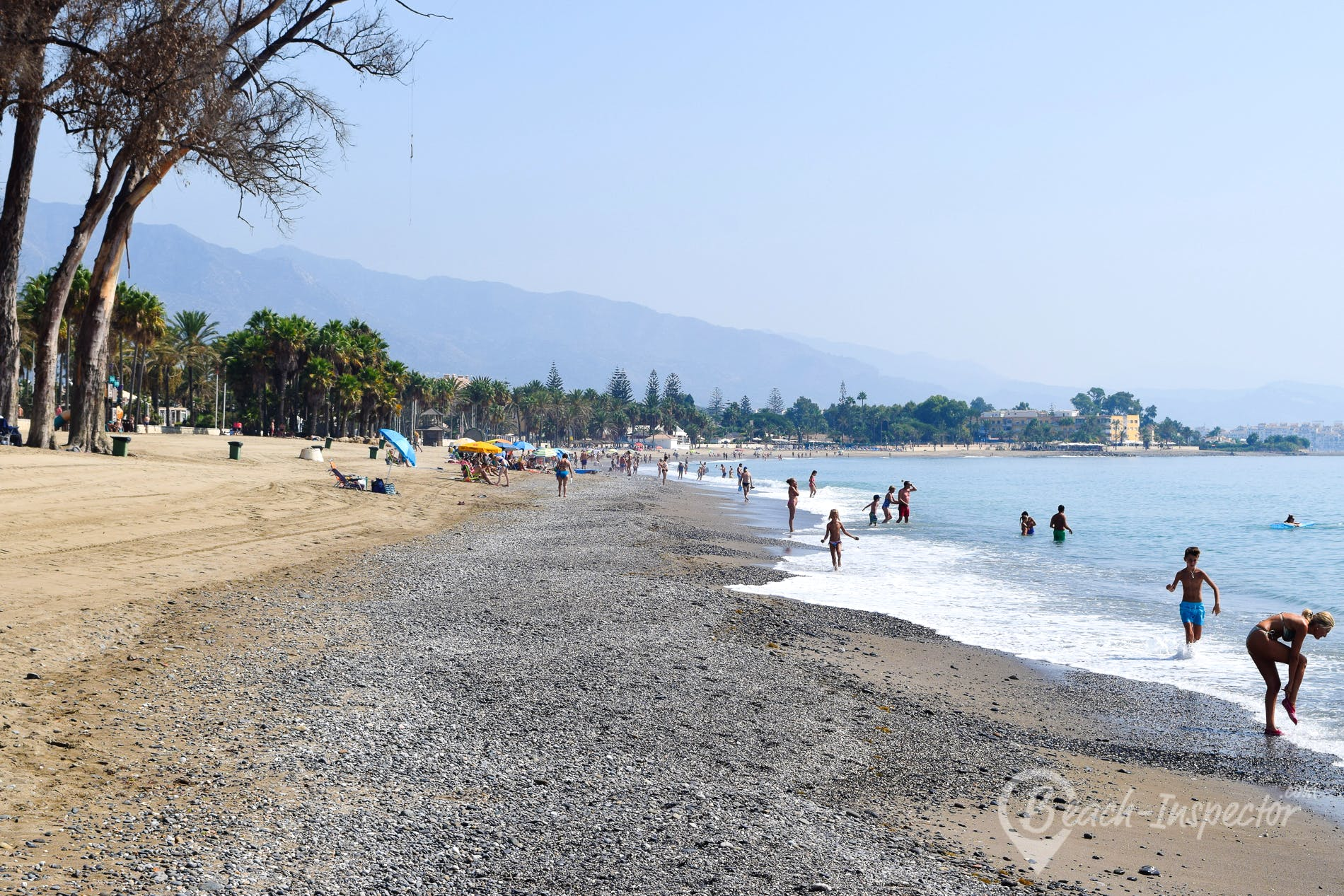 Playa Playa de Cortijo Blanco, Costa del Sol, España