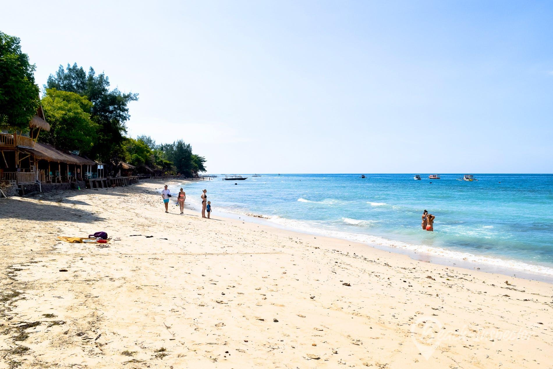 Strand Gili Air, Indonesien, Indonesien