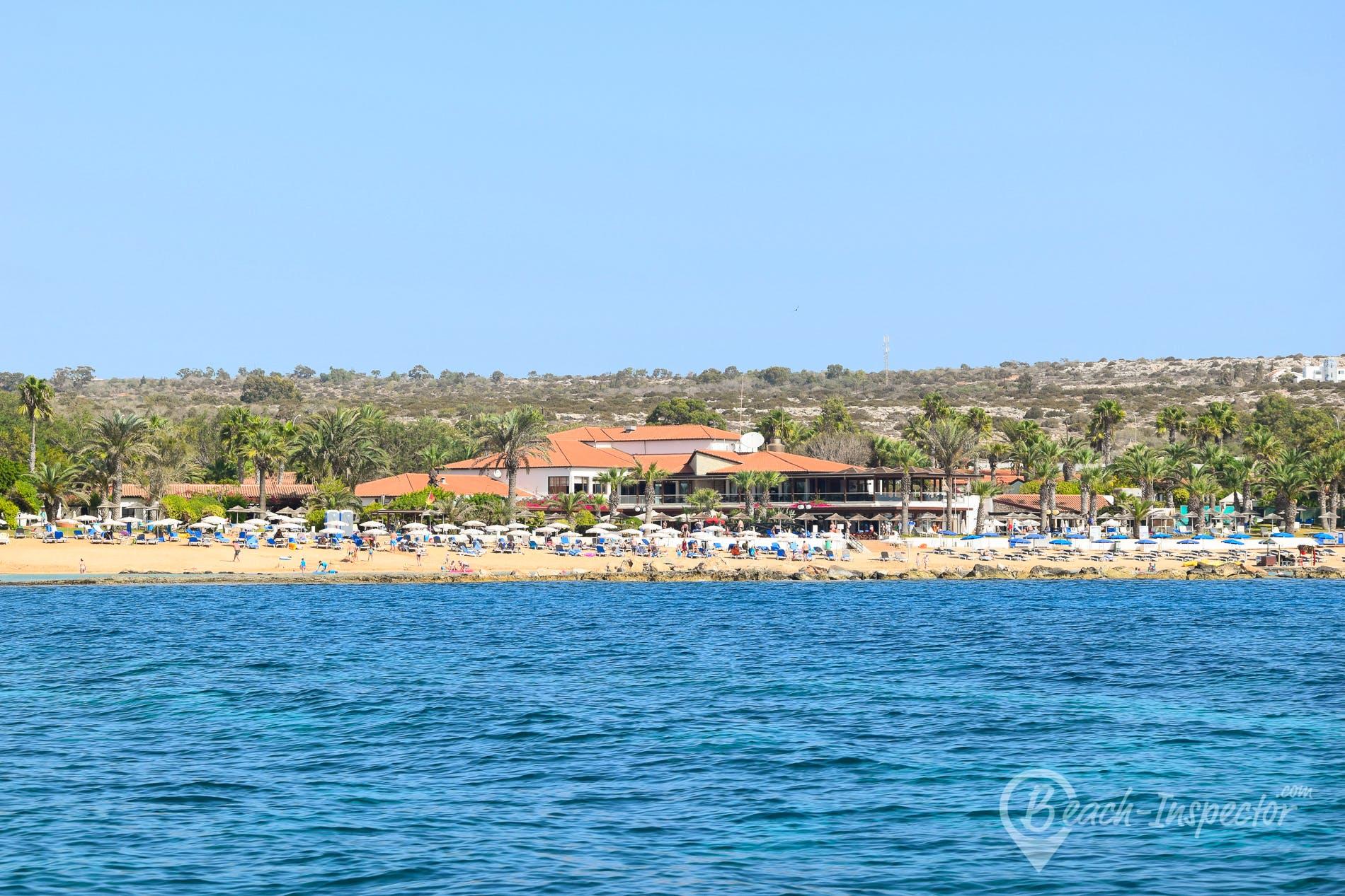 Strand Kermia Beach, Zypern, Zypern