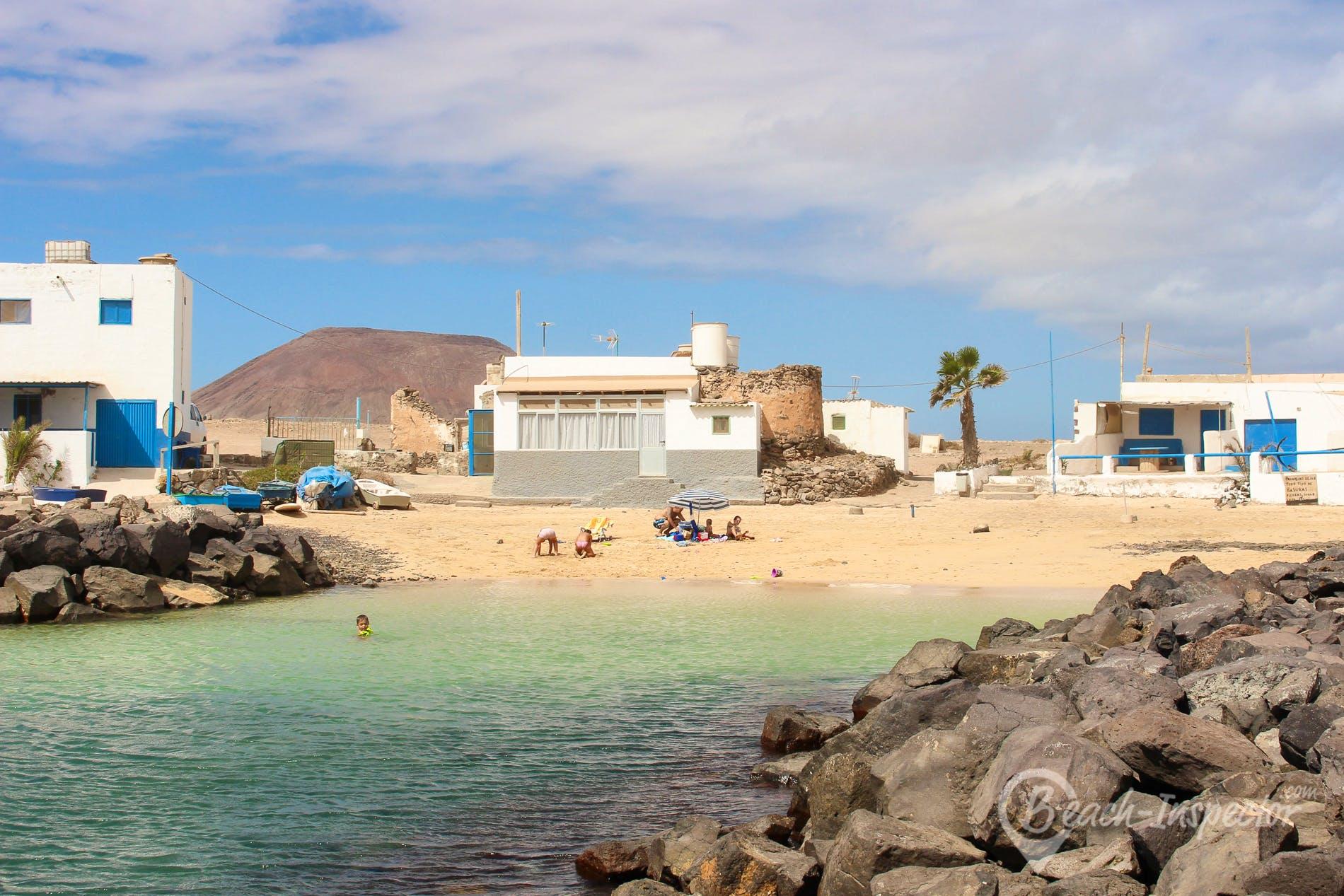 Playa Playa el Jablito, Fuerteventura, España