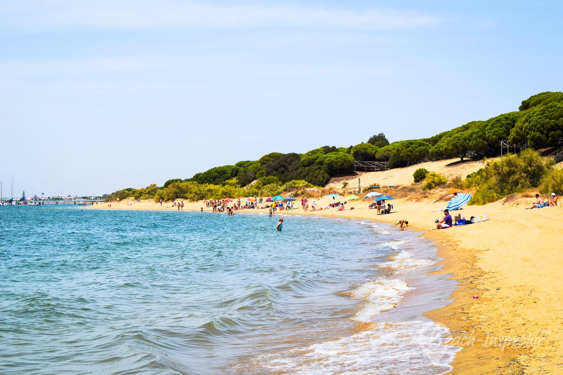 Strand Playa de Nuevo Portil, Costa de la Luz, Spanien