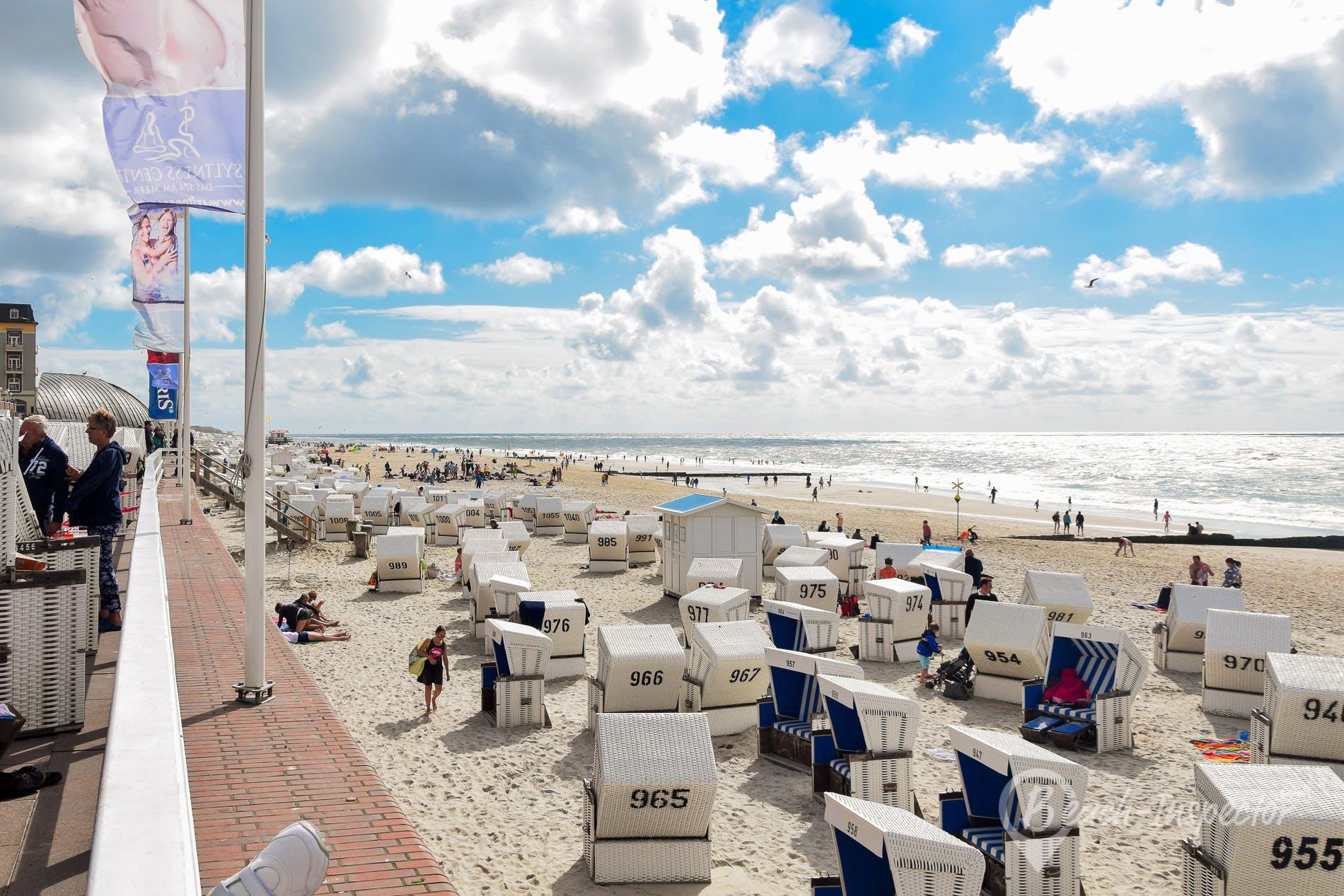 Playa Westerland Hauptstrand, Sylt, Alemania
