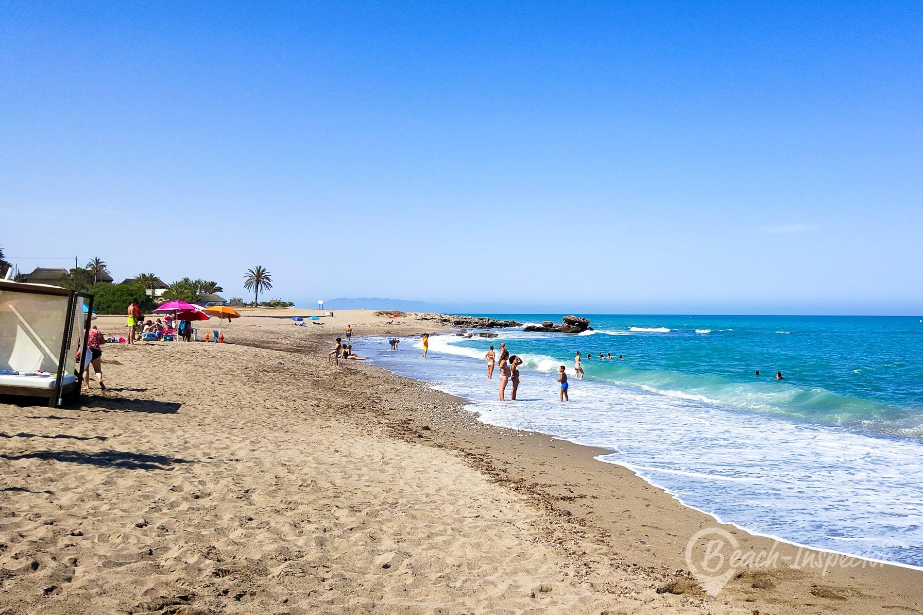 Strand Playa del Cantal, Costa de Almería, Spanien