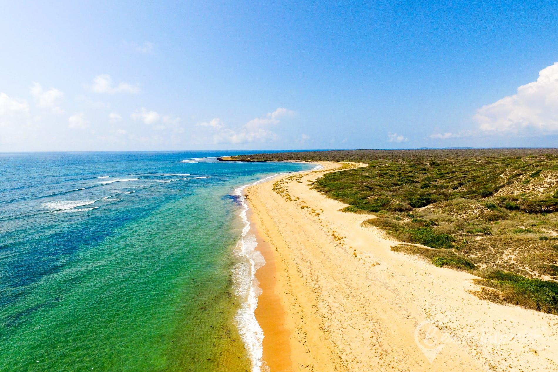 Strand Takwa Beach, Kenia, Kenia