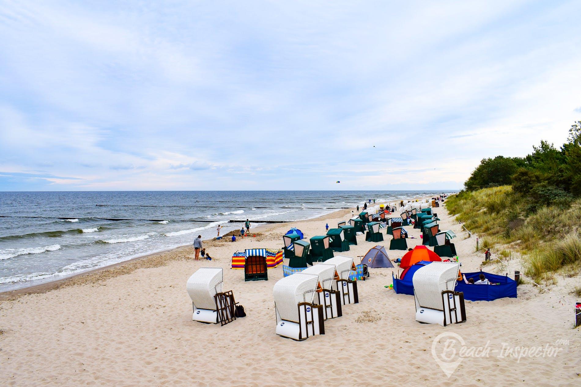 Strand Seebad Zempin, Usedom, Deutschland