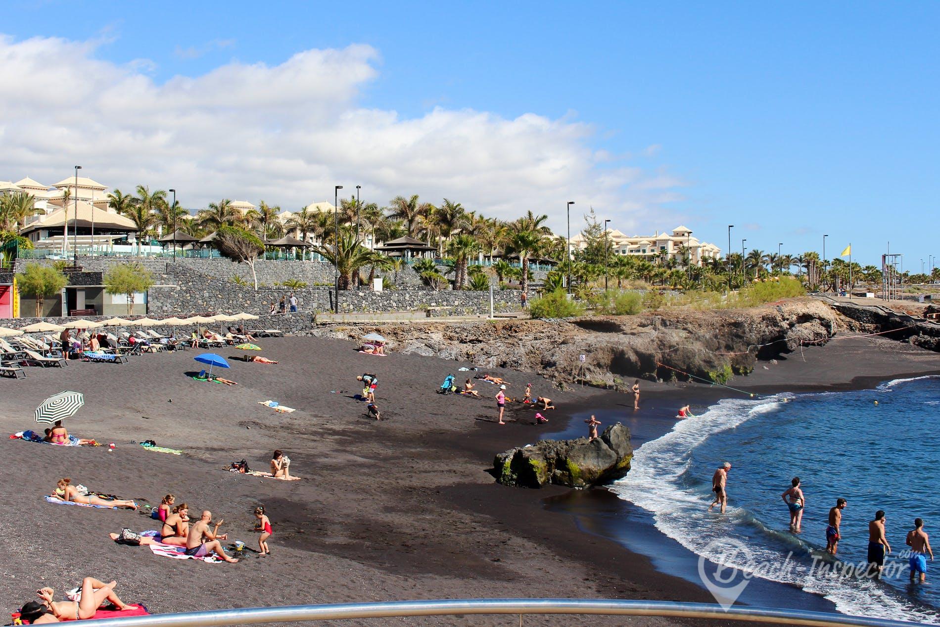 Playa Playa la Jaquita, Tenerife, España