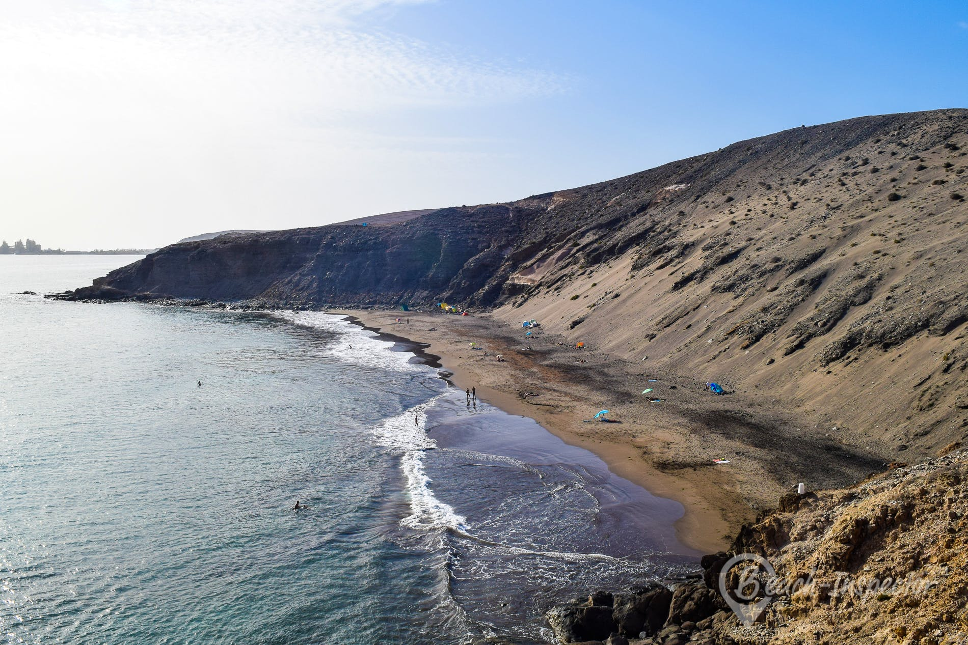 Beach Playa del Cometa, Gran Canaria, Spain