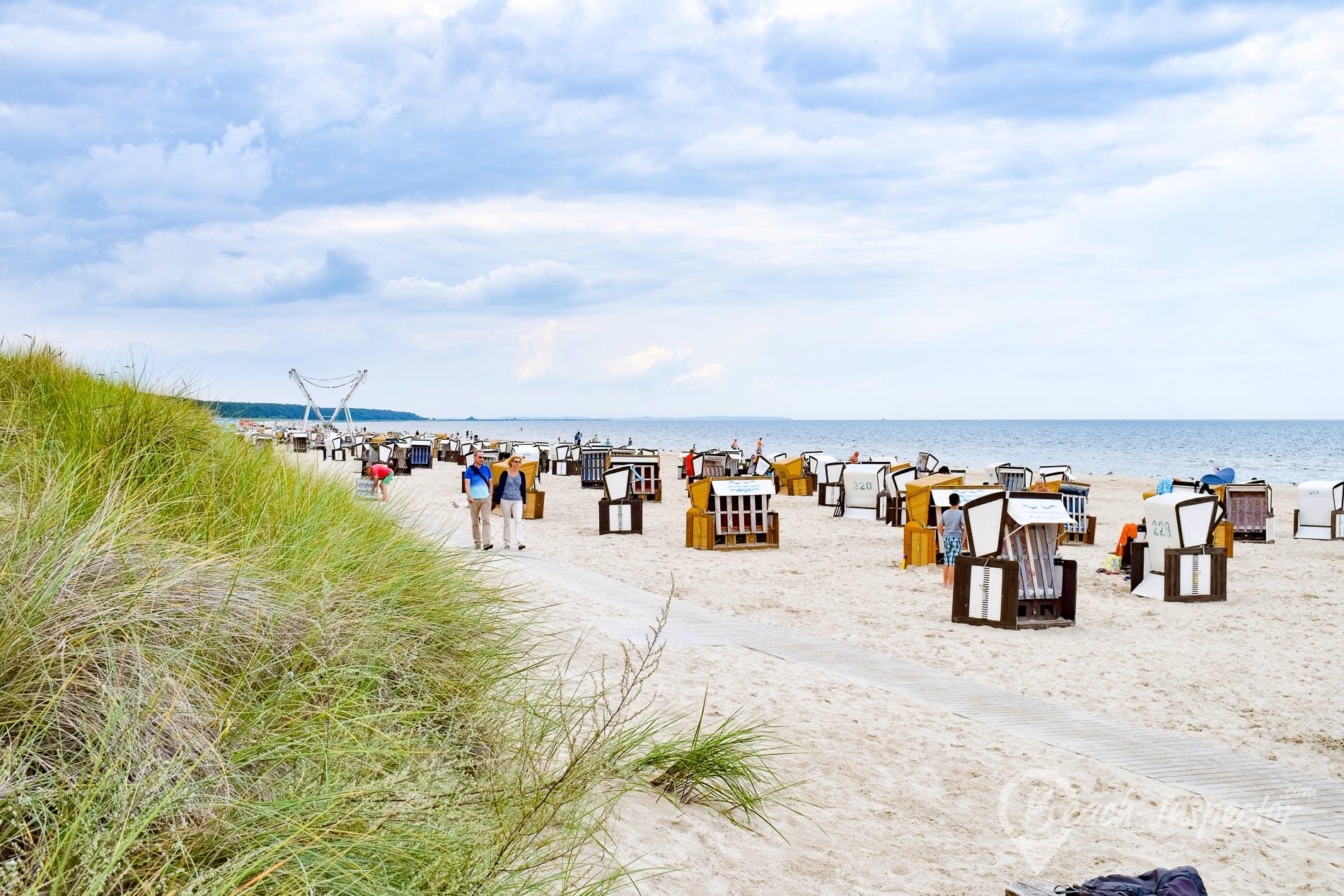 Beach Ostseebad Karlshagen, Usedom, Germany