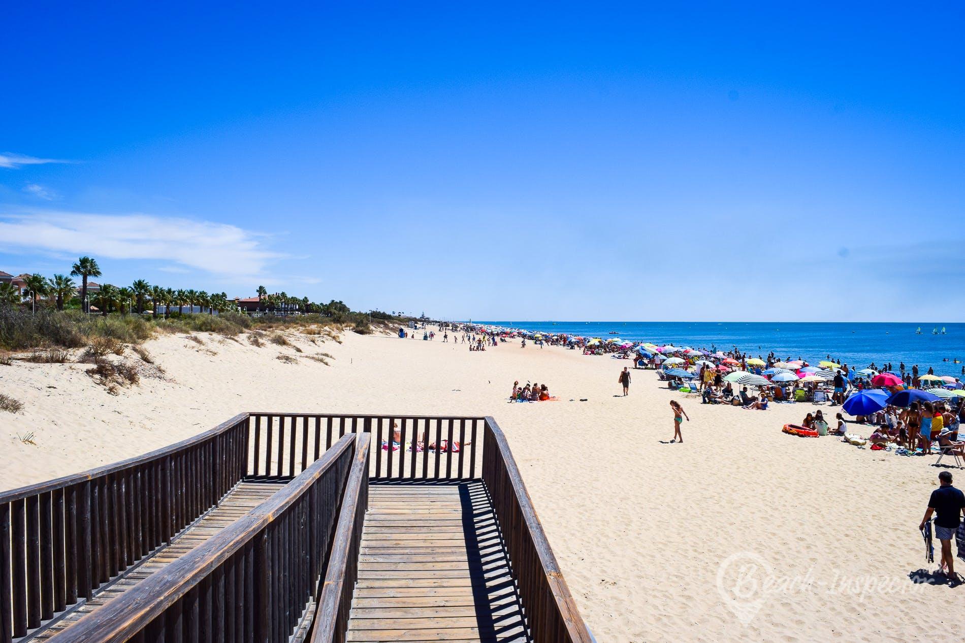 Beach Playa Islantilla, Costa de la Luz, Spain