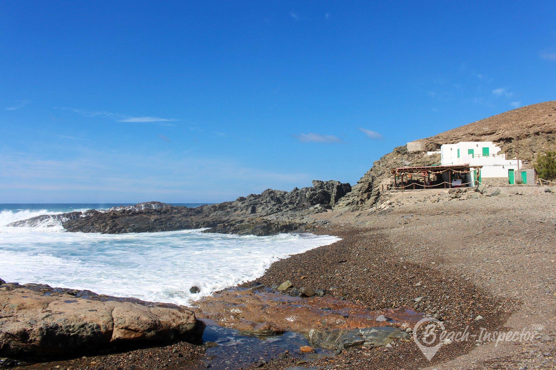 Strand Playa Valle de Santa Inés, Fuerteventura, Spanien