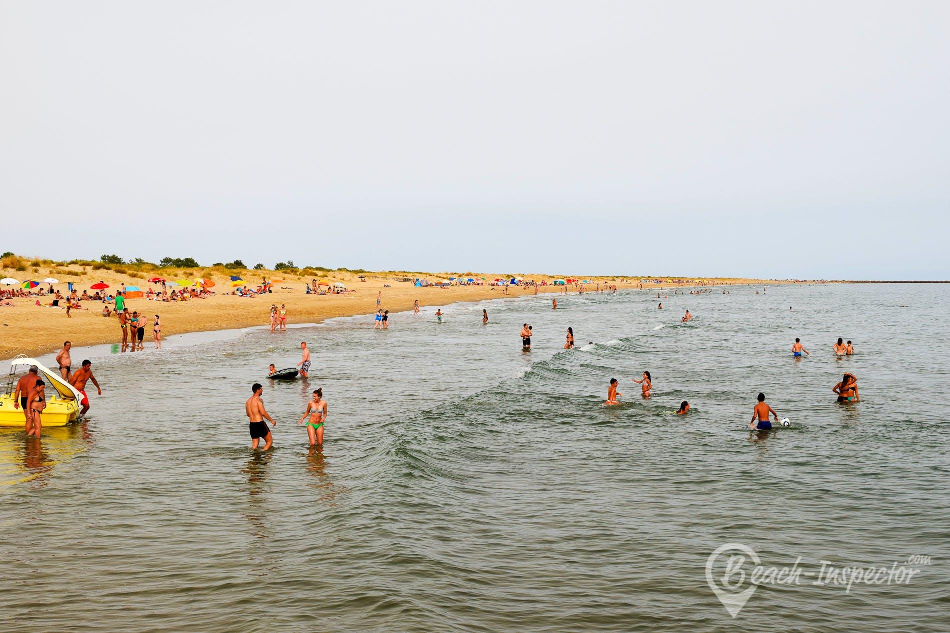 Beach Praia do Santo António, Algarve, Portugal