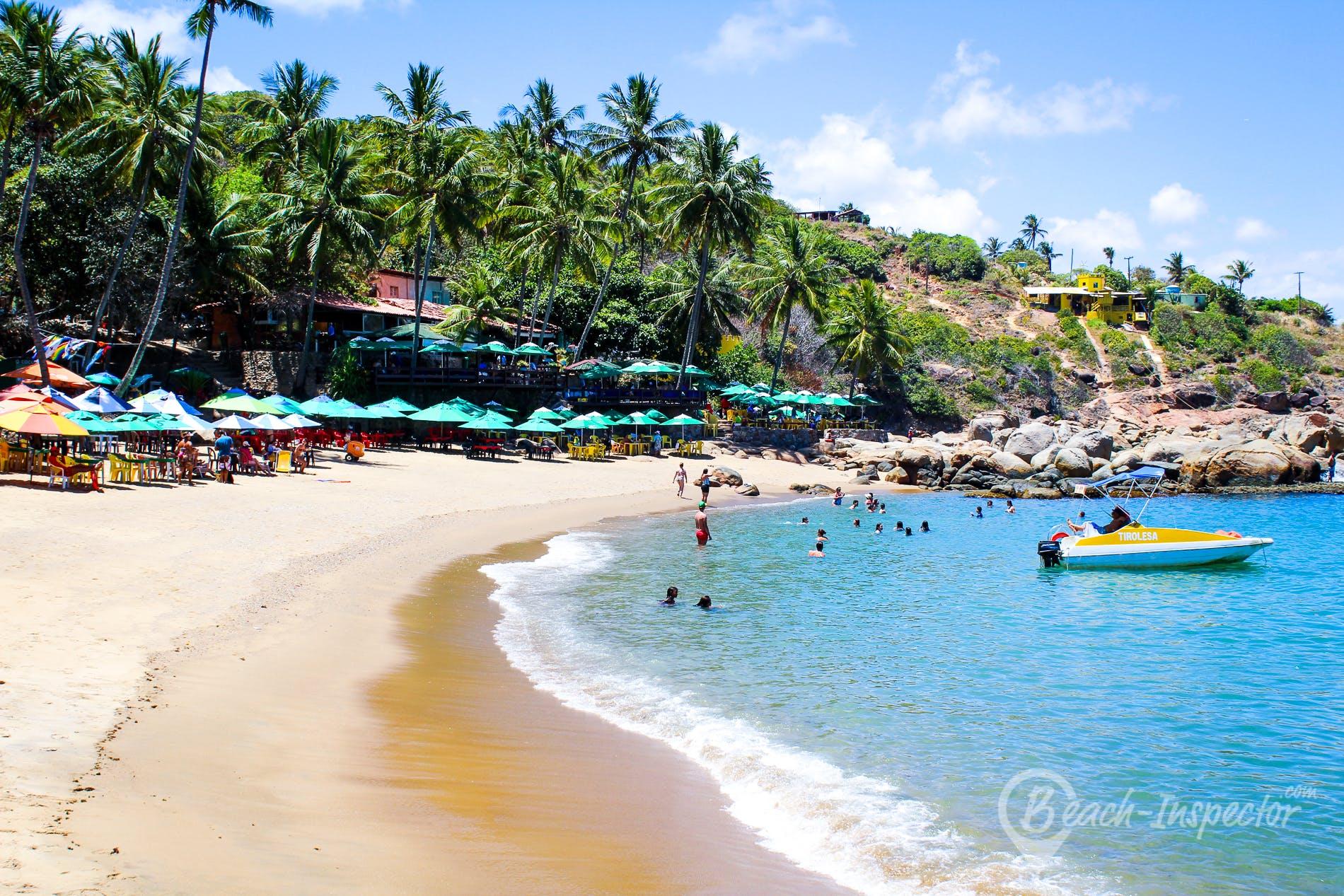 Beach Praia das Calhetas, Pernambuco, Brazil