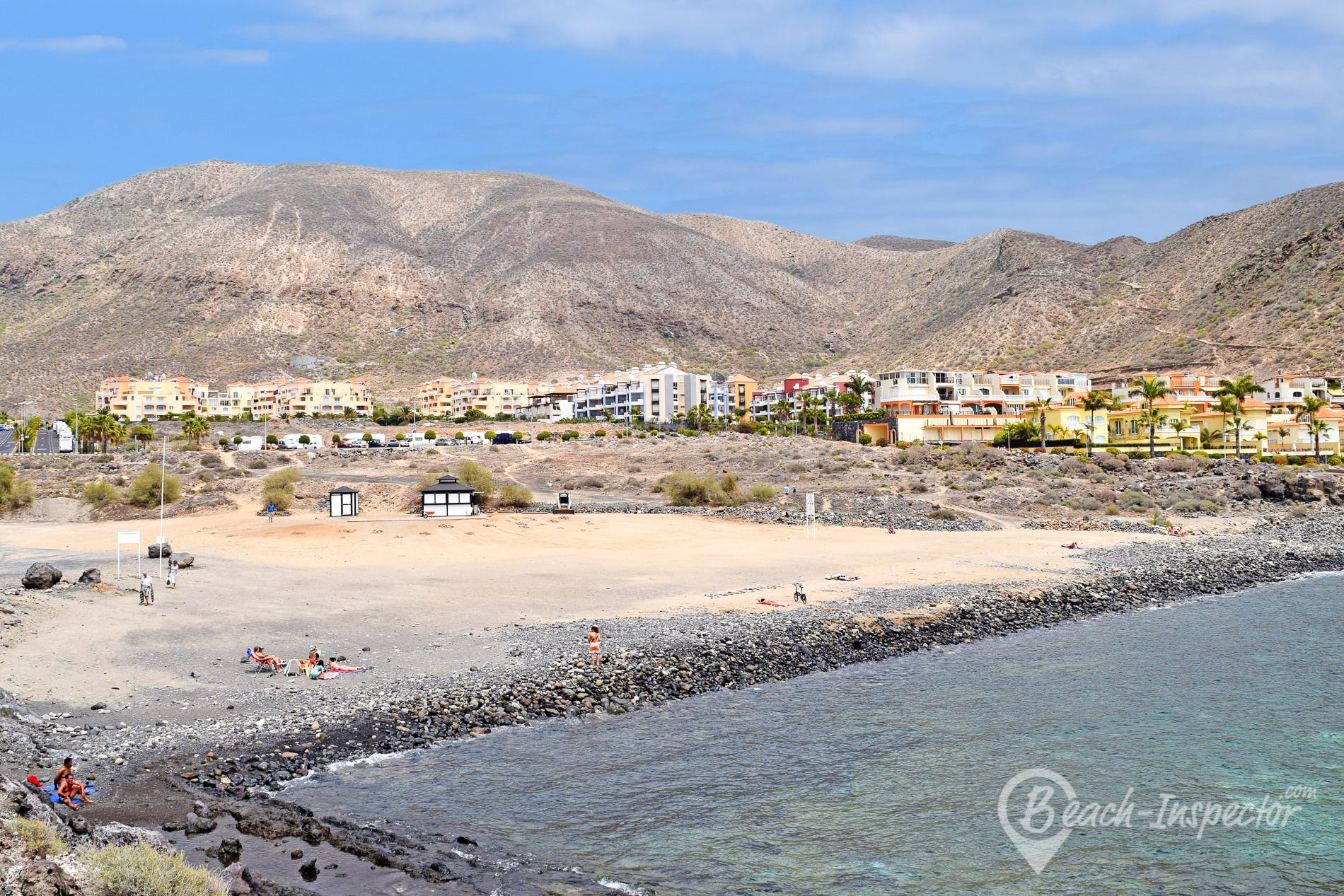 Beach Playa Callao, Tenerife, Spain
