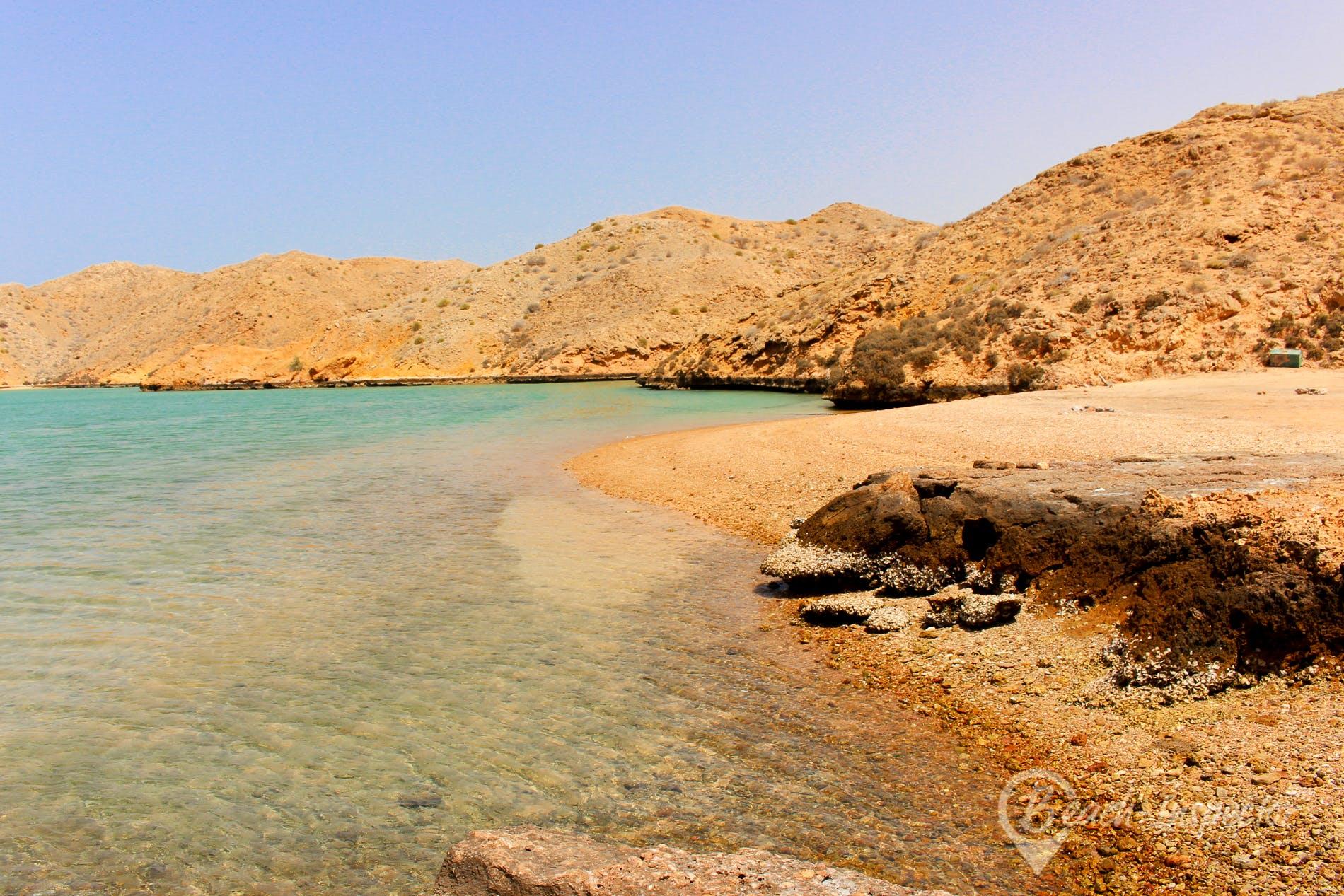 Beach Bandar Khayran, Oman, Oman