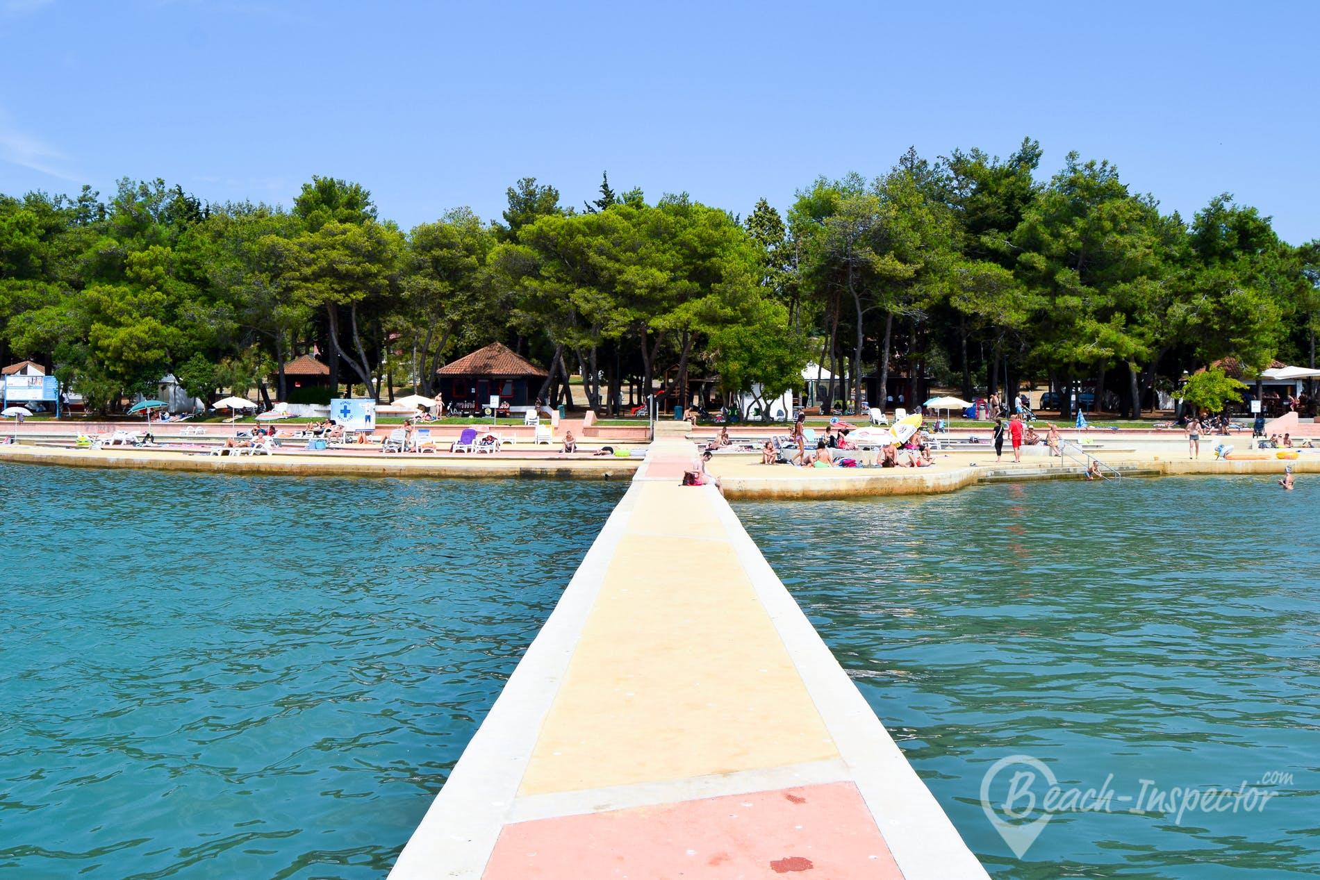 Beach Katoro, Istria, Croatia