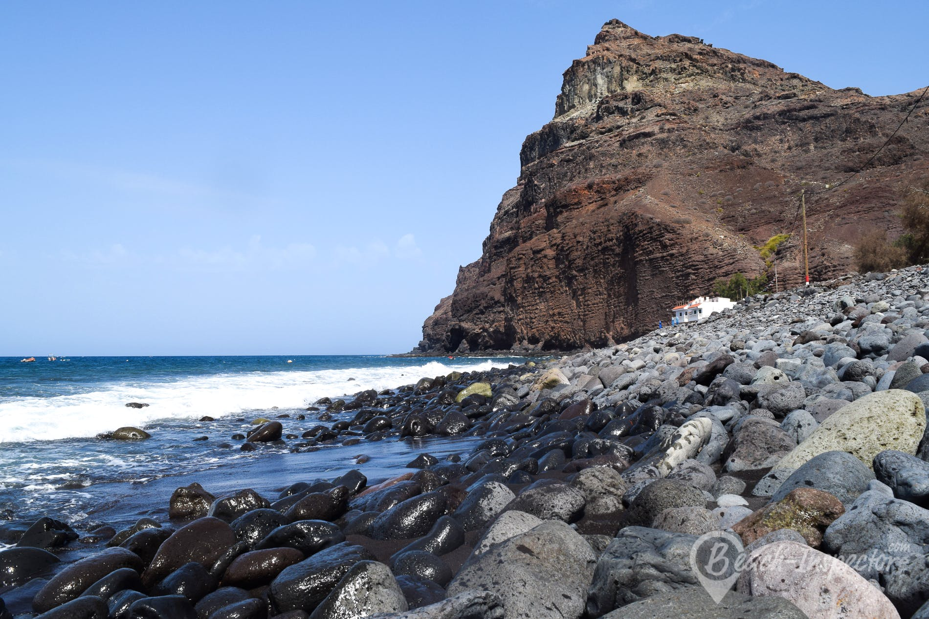 Beach Playa de Tasarte, Gran Canaria, Spain