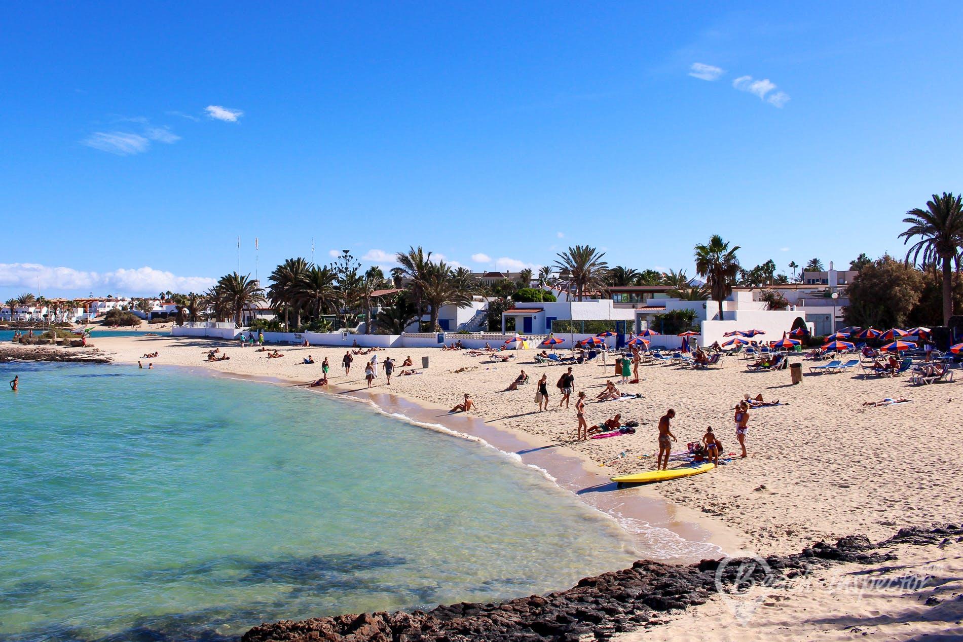 Beach Playa Hoplaco, Fuerteventura, Spain