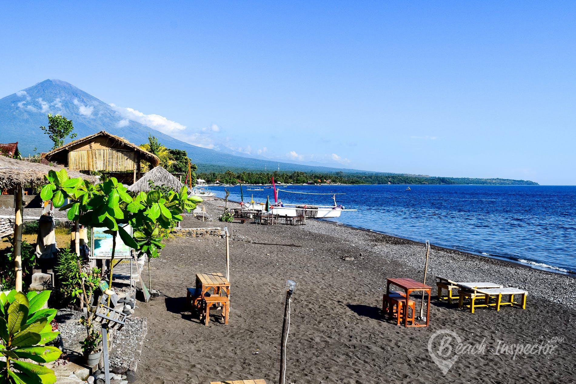 Beach Amed Beach, Bali, Indonesia