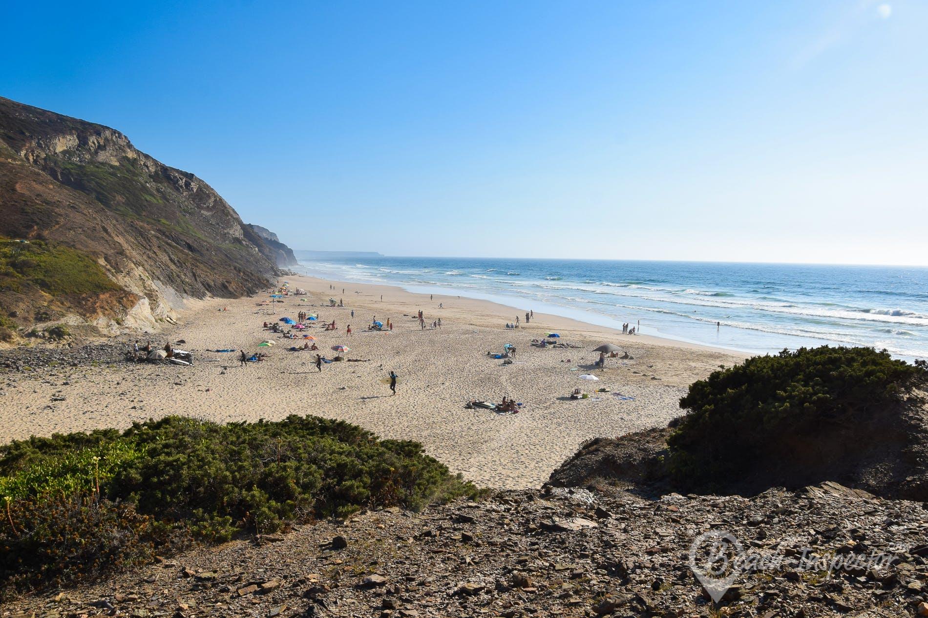 Strand Praia de Vale Figueiras, Algarve, Portugal